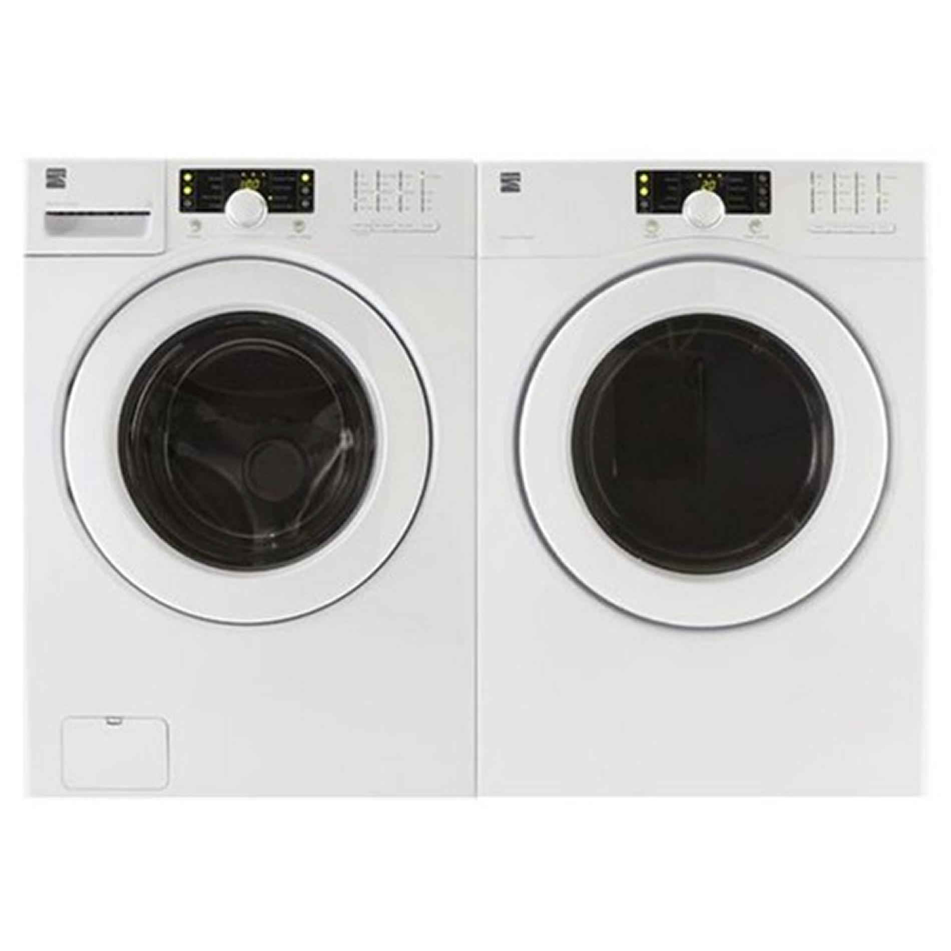 Kenmore  ENERGY STAR® Front-Load Washer and Electric Dryer Set with Steel Washer Basket by Kenmore