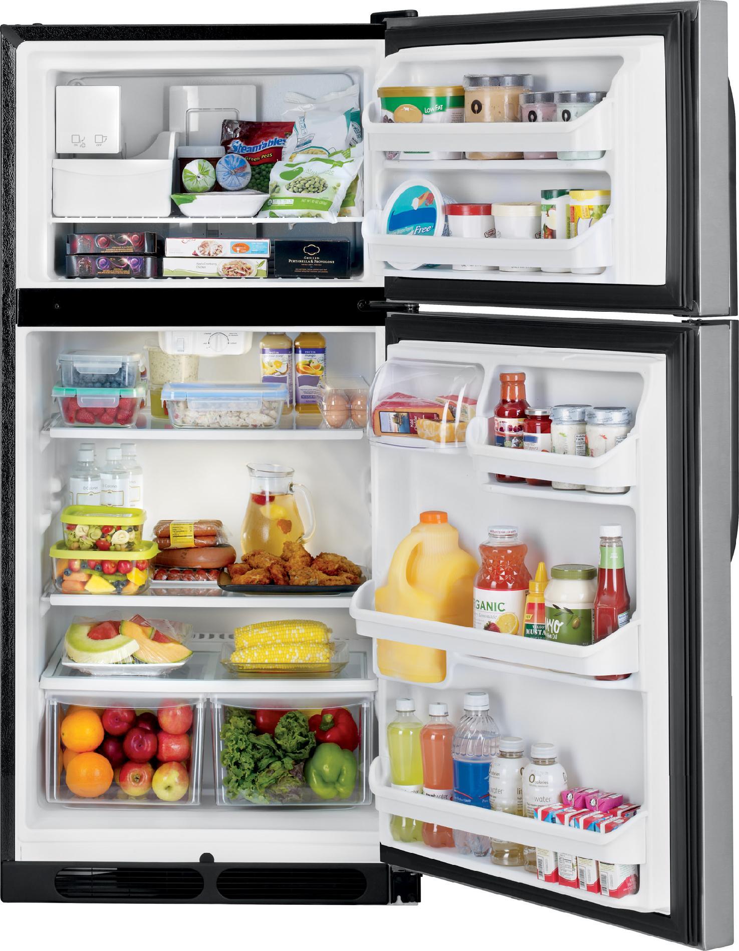 Kenmore 70303 14.5 cu. ft. Top Freezer Refrigerator - Stainless