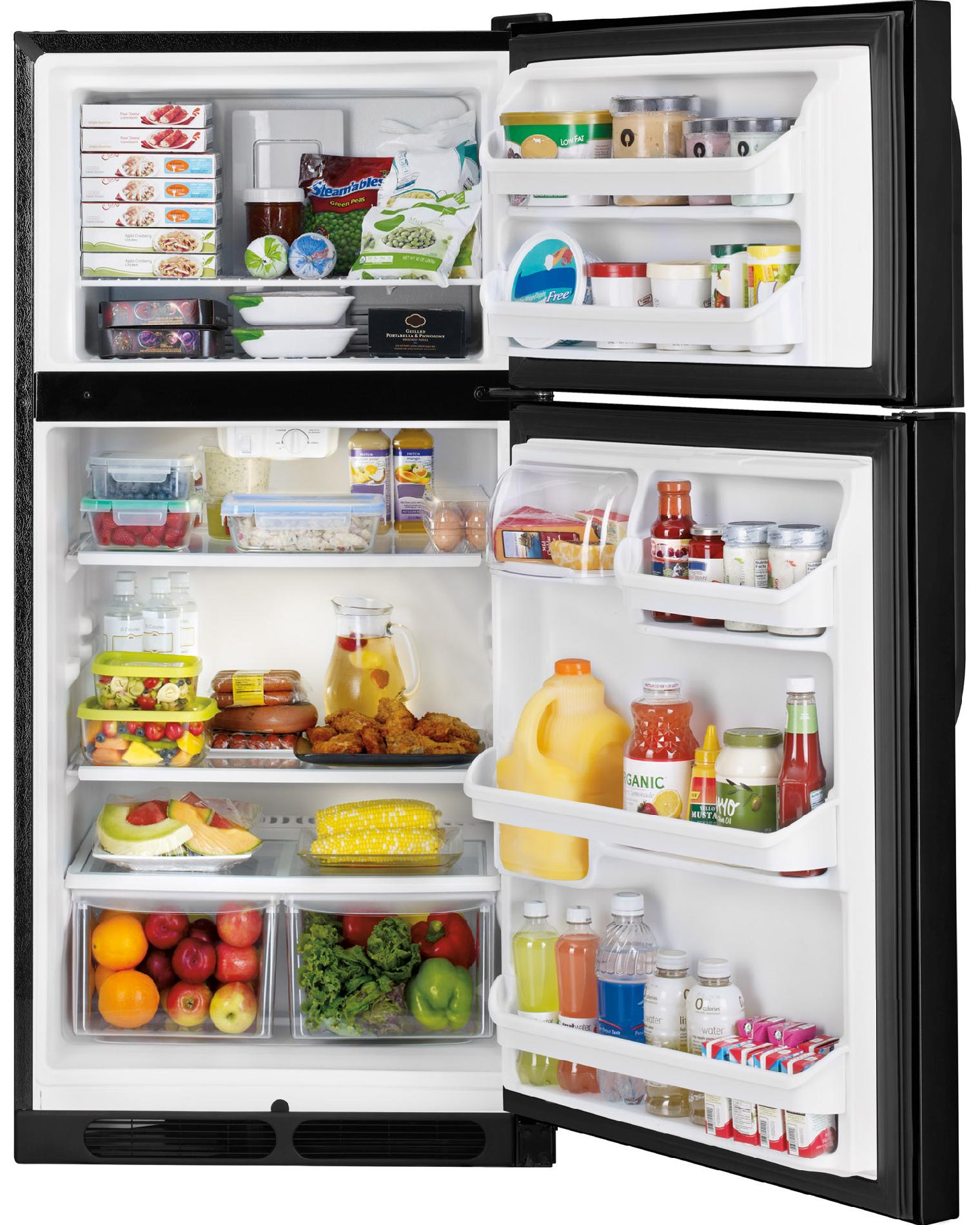Kenmore 60309 14.5 cu. ft. Top Freezer Refrigerator - Black