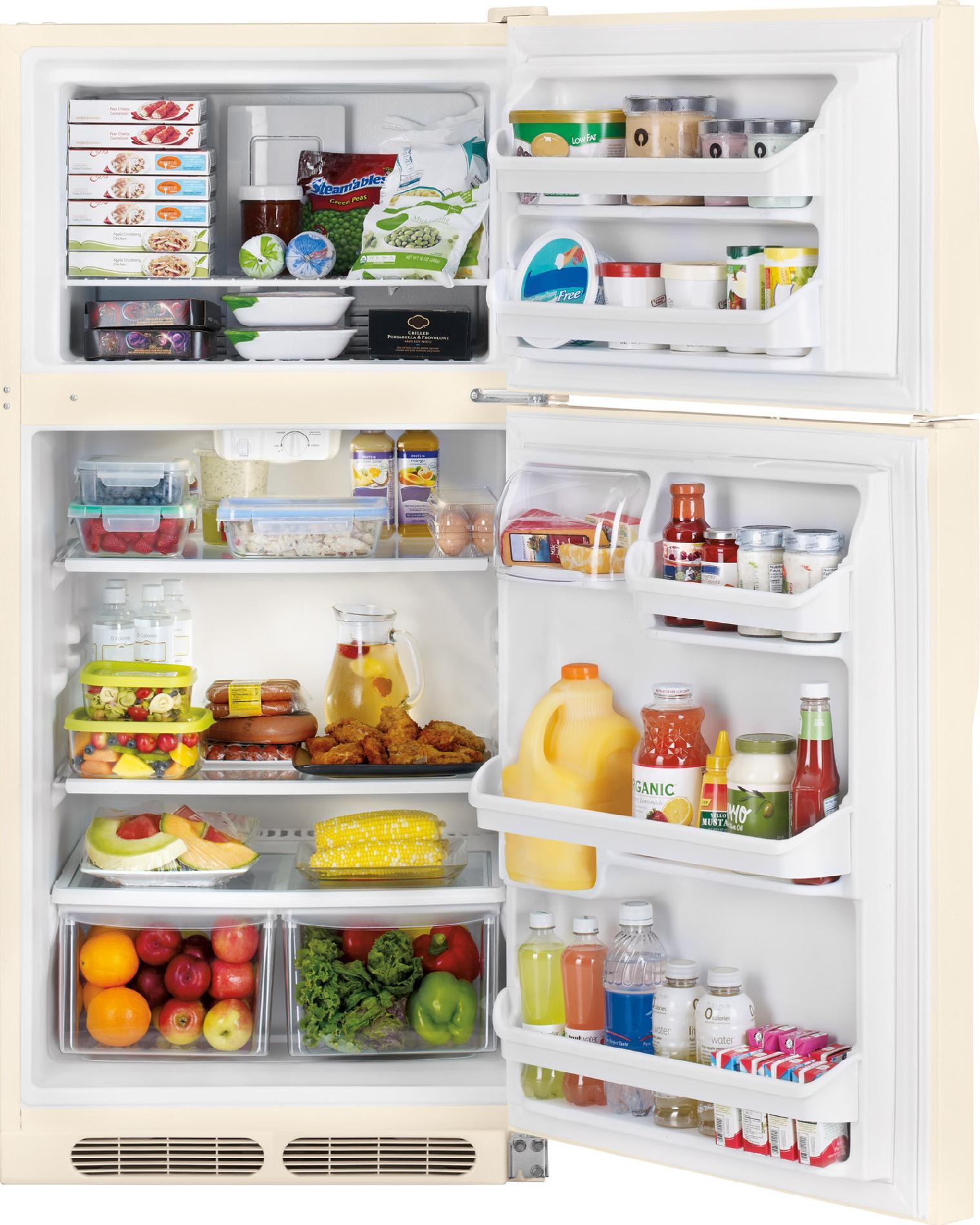 Kenmore 60304 14.5 cu. ft. Top Freezer Refrigerator - Bisque