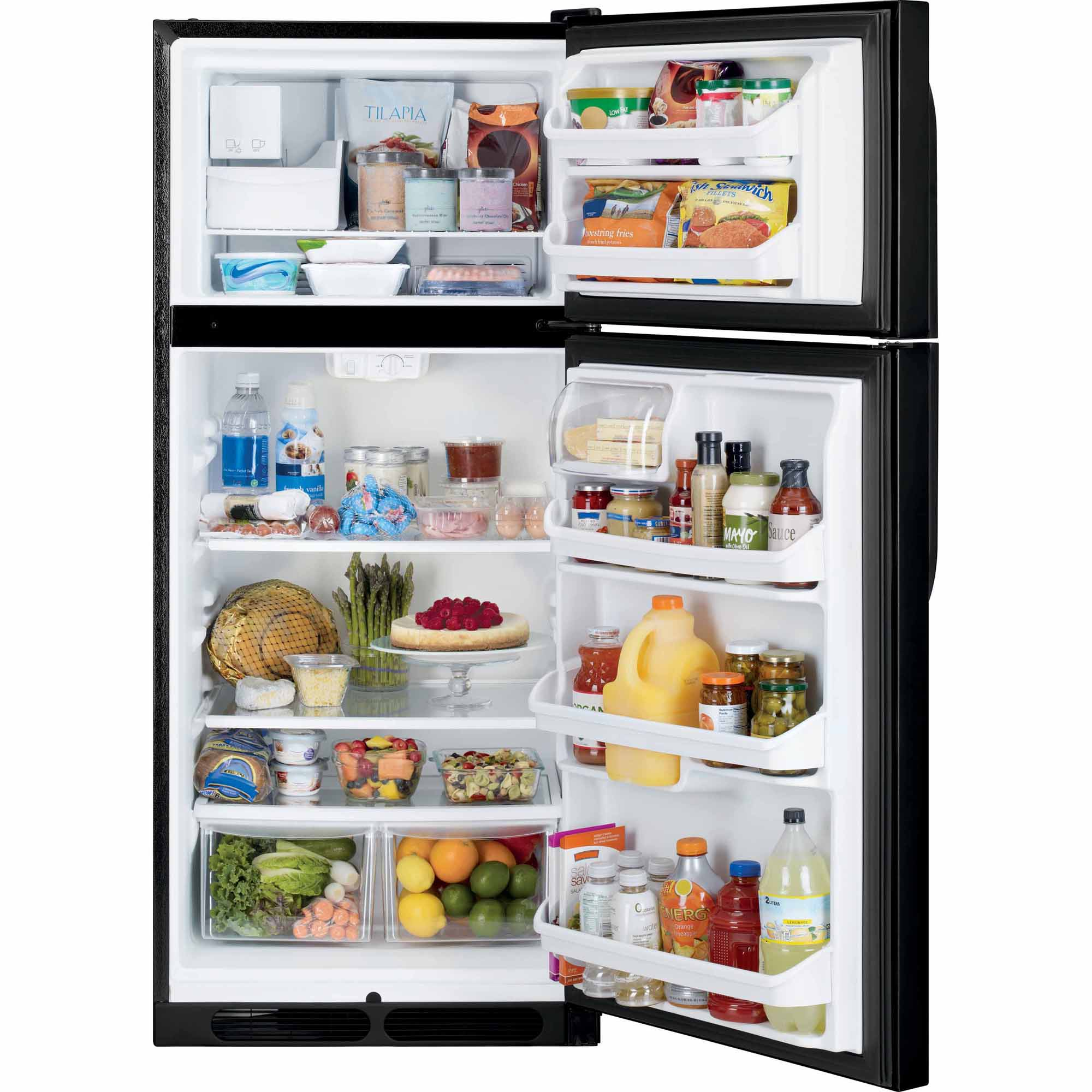 Kenmore 70409 16.3 cu. ft. Top Freezer Refrigerator - Black