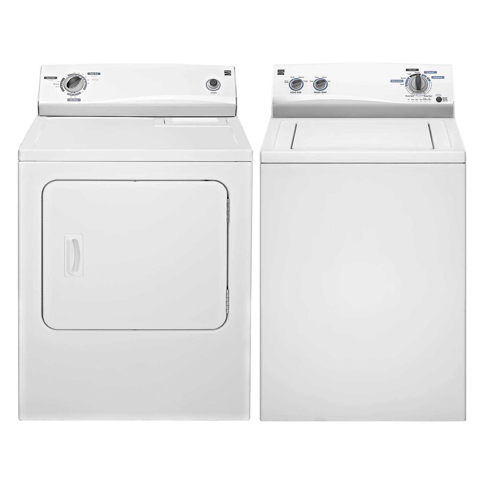 3.4 cu. ft. Top-Load Washing Machine & 6.5 cu. ft. Electric Dryer