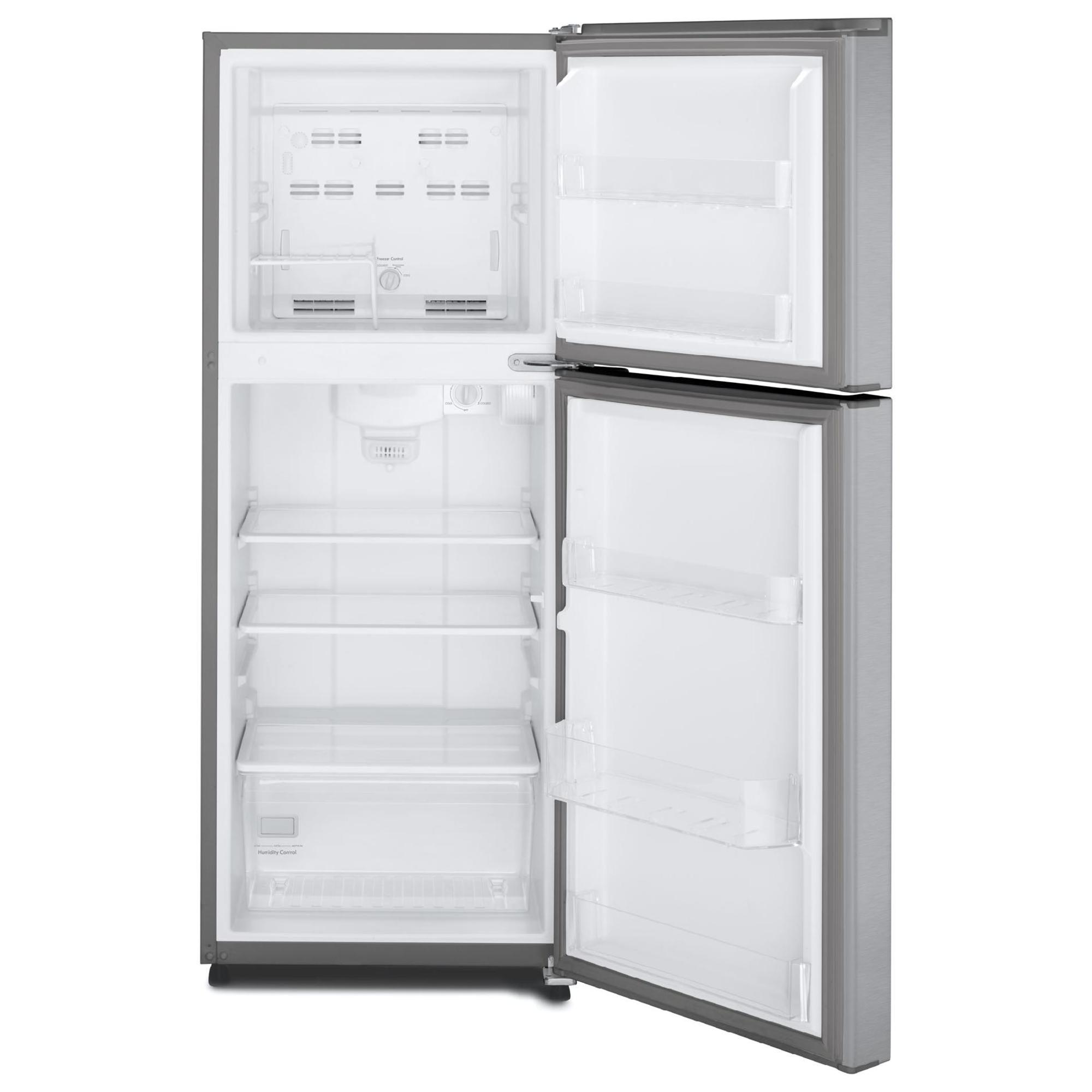 Kenmore 76393 10.7 cu. ft. Top-Freezer Refrigerator w/ Humidity-Controlled Crisper - Stainless