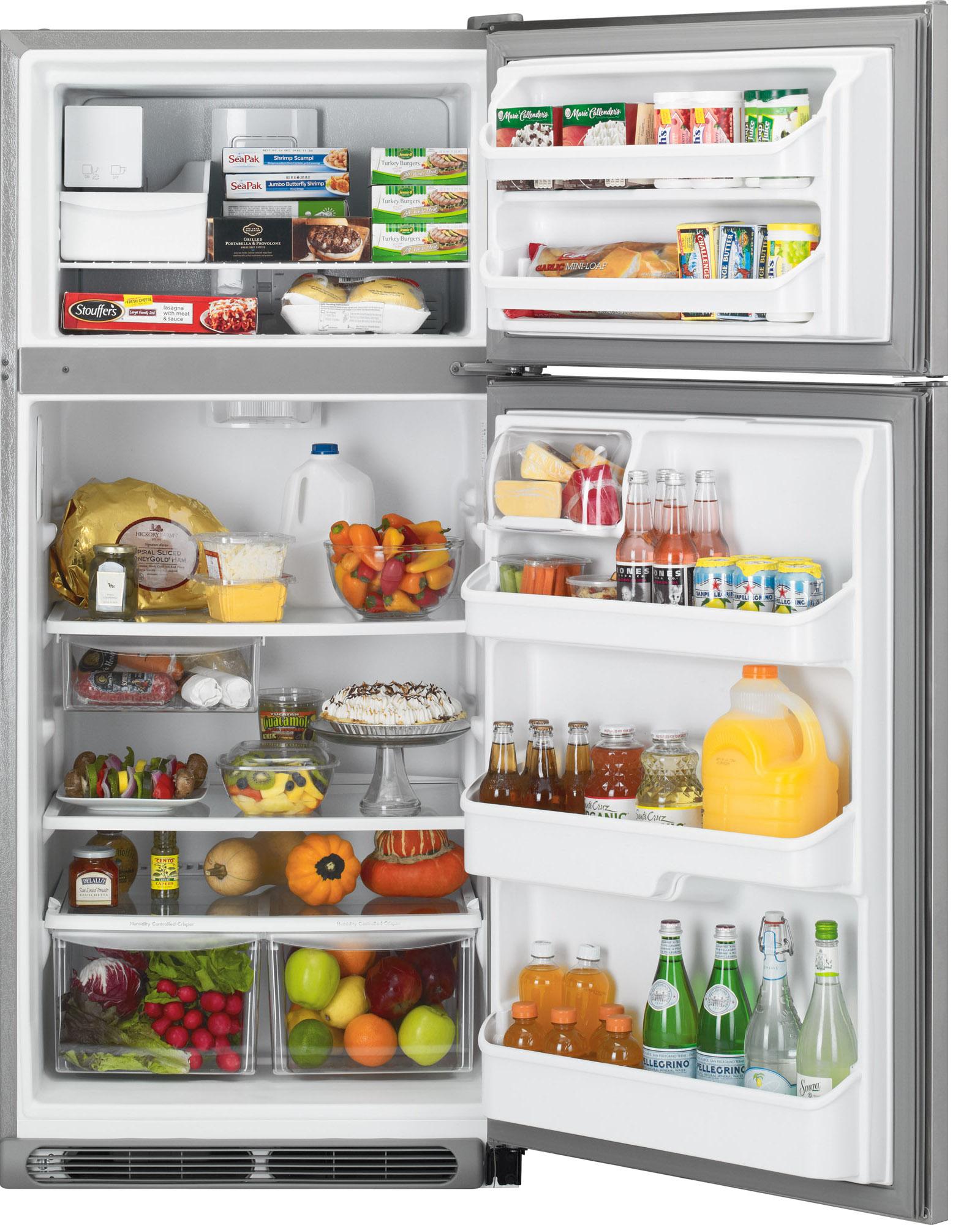Kenmore 70603 18 cu. ft. Top Freezer Refrigerator - Stainless Steel
