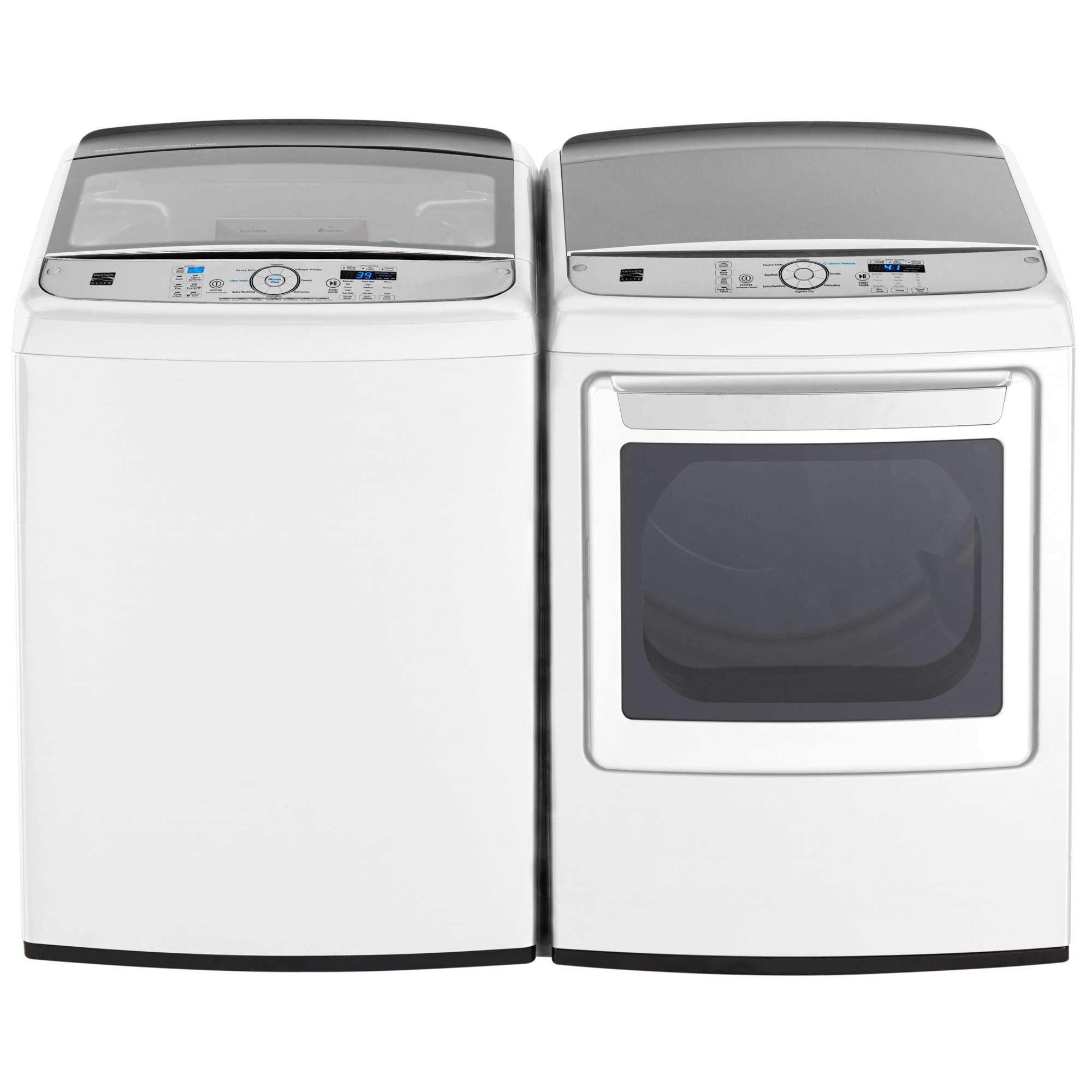 Kenmore Elite 7.3 cu. ft. Electric Dryer w/ Steam - White
