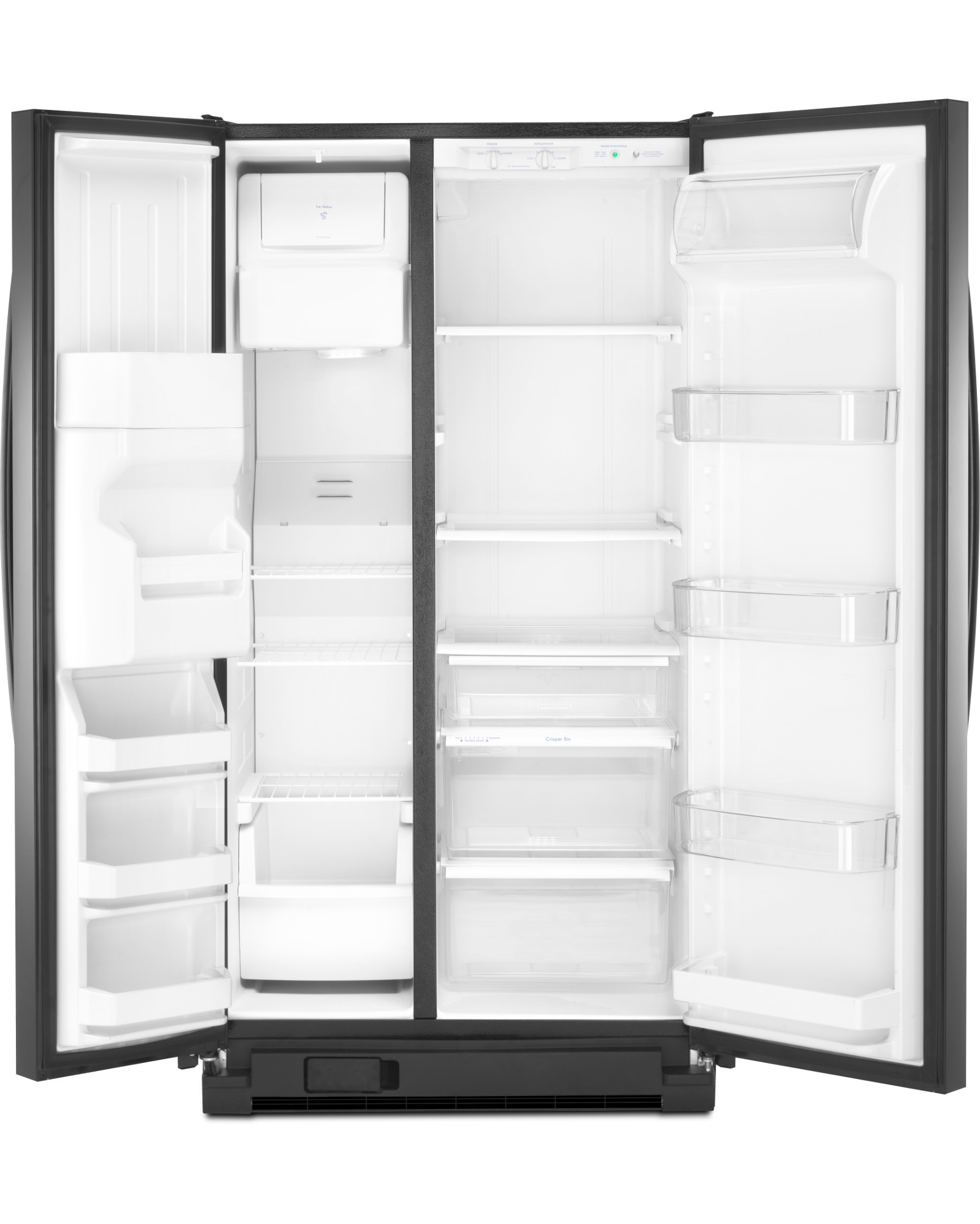 Kenmore 51729 25 cu. ft. Side-by-Side Refrigerator w/ SmartSense™ Cooling Technology - Black - 51729