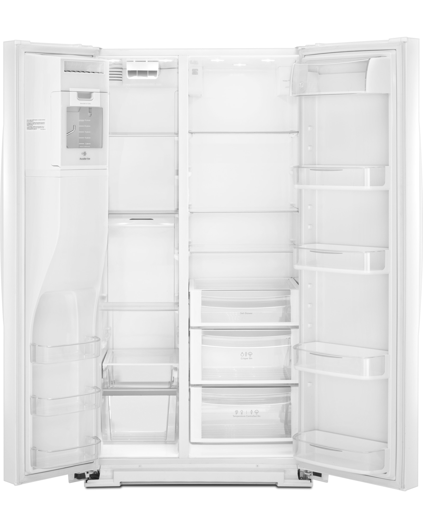 Kenmore Elite 51712 23 cu. ft. Counter-Depth Side-by-Side Refrigerator w/ SmartSense™ - White