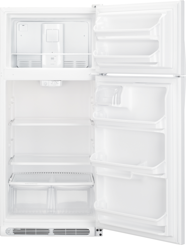 Kenmore 60502 18 cu. ft. Top Freezer Refrigerator w/ Glass Shelves - White