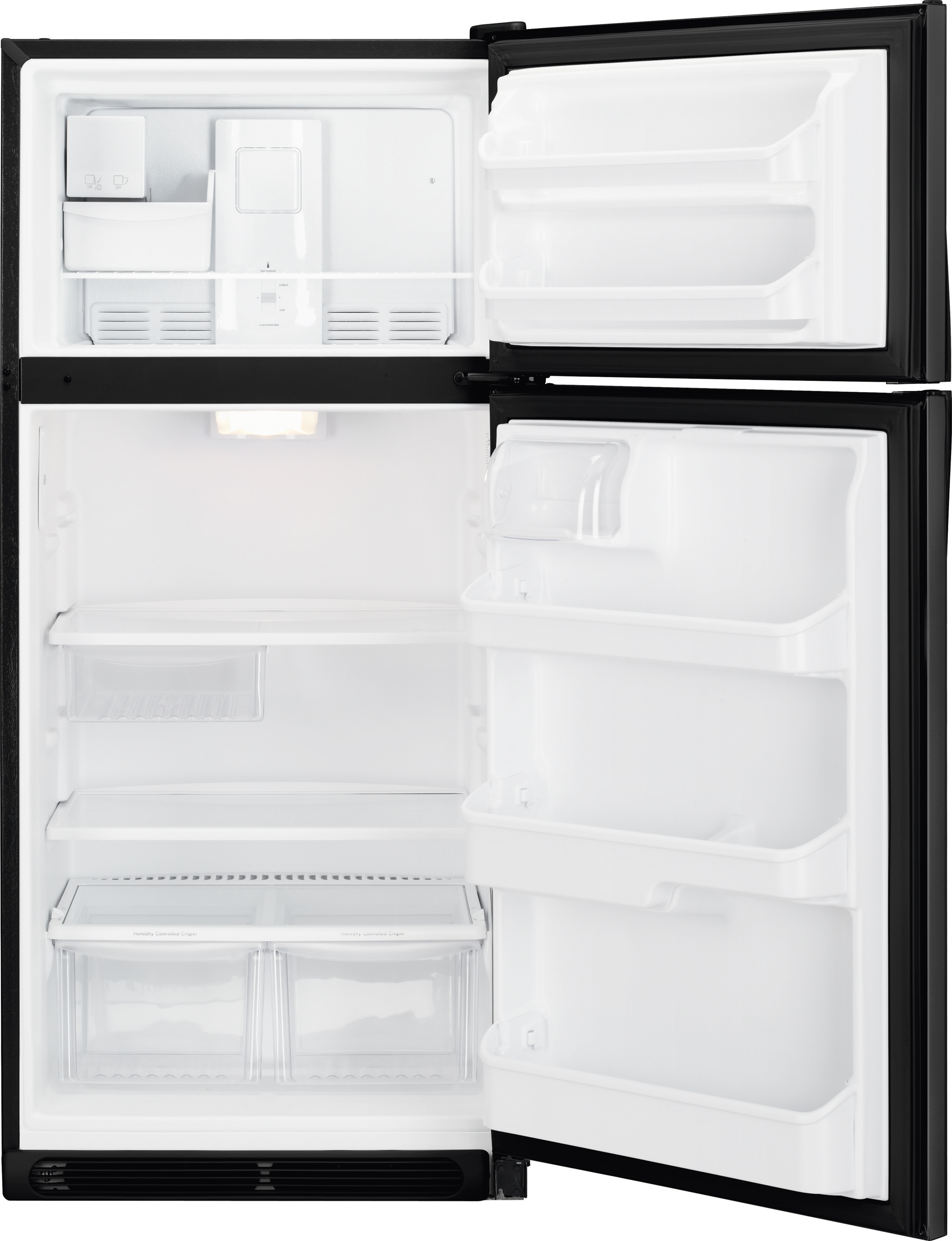 Kenmore 70609 18 cu. ft. Top Freezer Refrigerator - Black