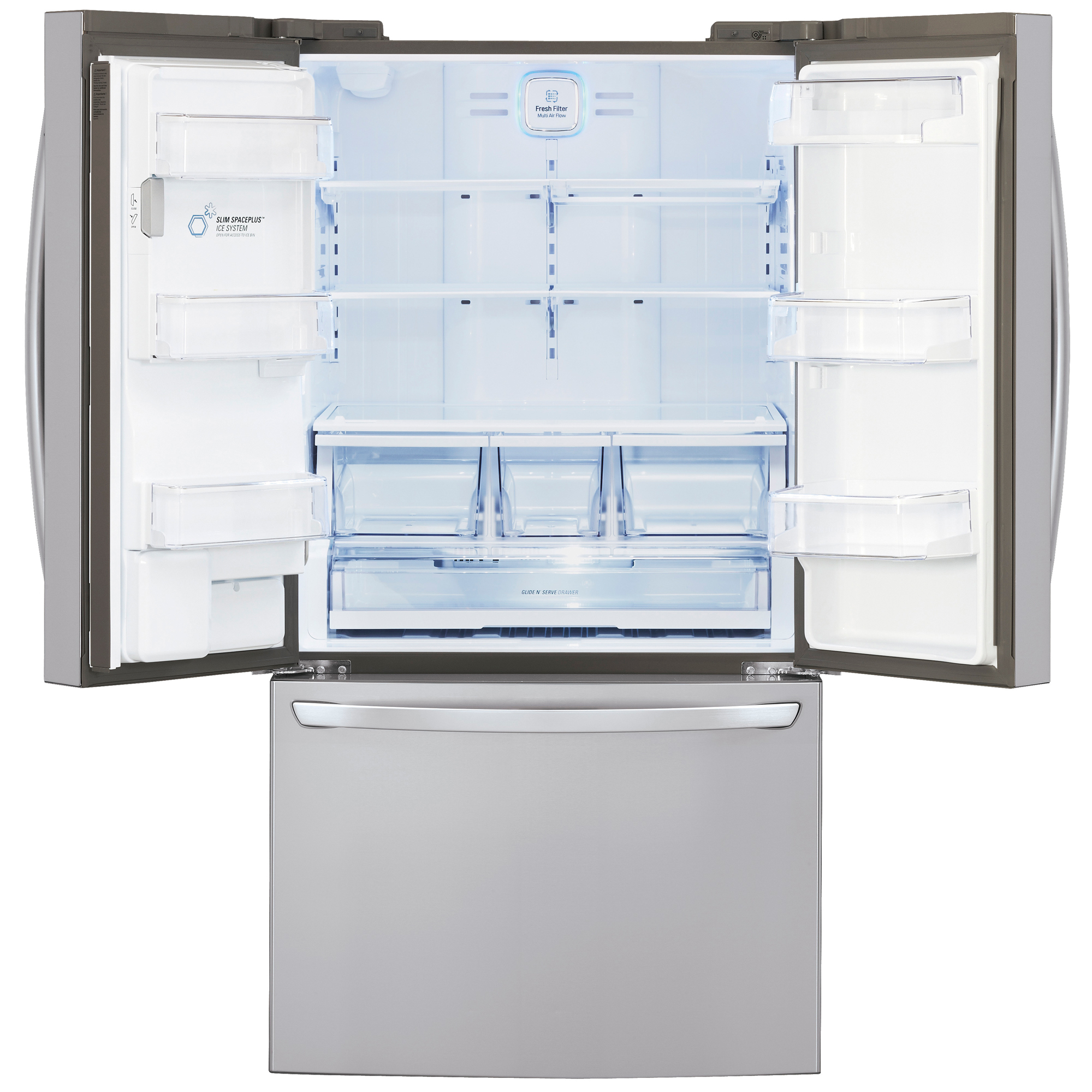 LG LFXS29626S 28.8 cu. ft. Ultra-Capacity French Door Refrigerator w/ Smart Cooling Plus