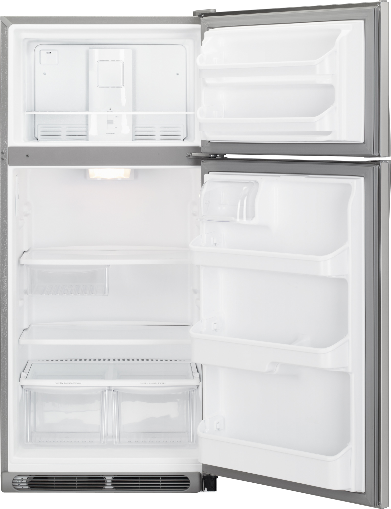 Kenmore 60603 18 cu. ft. Top Freezer Refrigerator - Stainless Steel