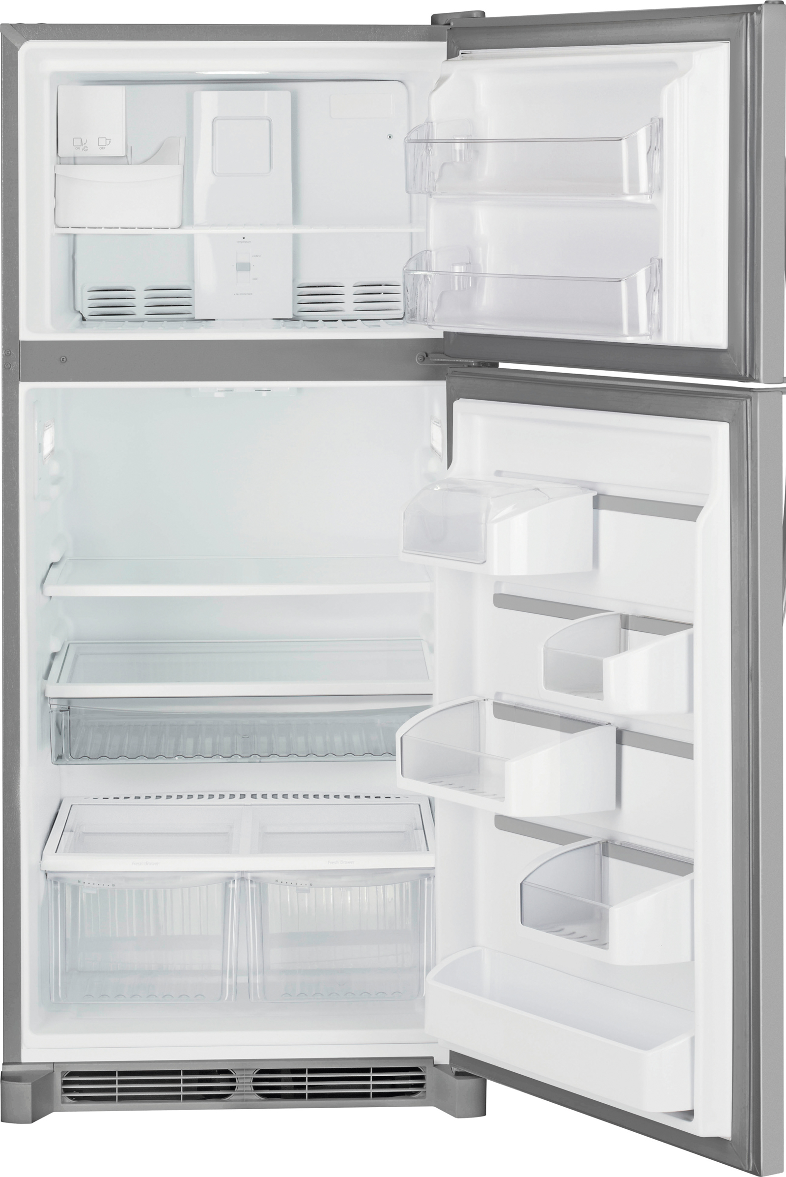 Kenmore 18 cu. ft. Top Mount Refrigerator - Stainless