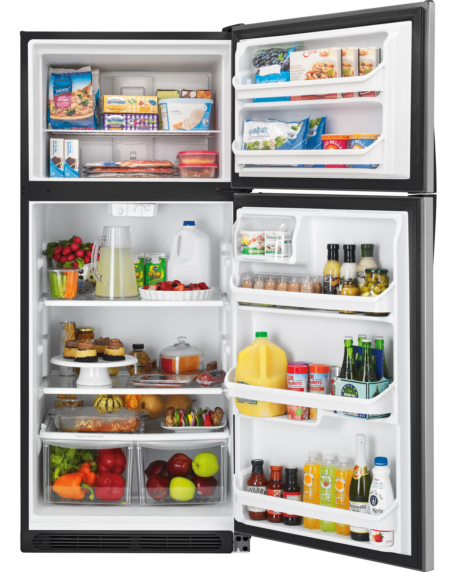 Kenmore 60083 20.4 cu. ft. Top Freezer Refrigerator - Stainless Steel