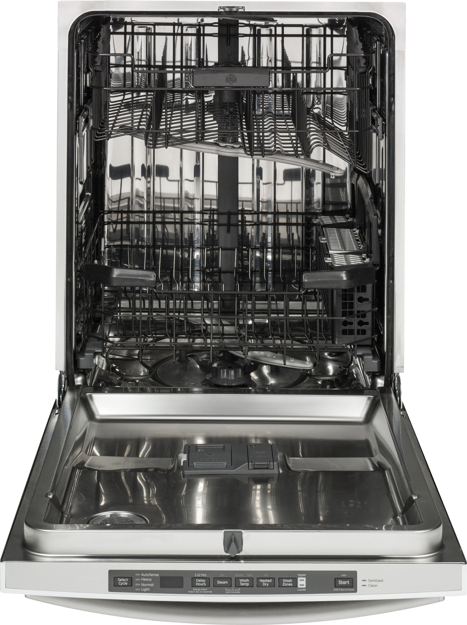 GE Appliances GDT580SSFSS Stainless Steel Interior Dishwasher w/ Hidden Controls - Stainless Steel