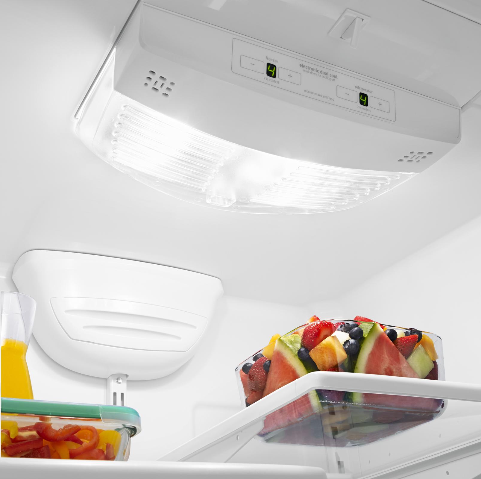 Whirlpool WRB119WFBB 19 cu. ft. Single Door Bottom Freezer Refrigerator w/ Adaptive Defrost - Black