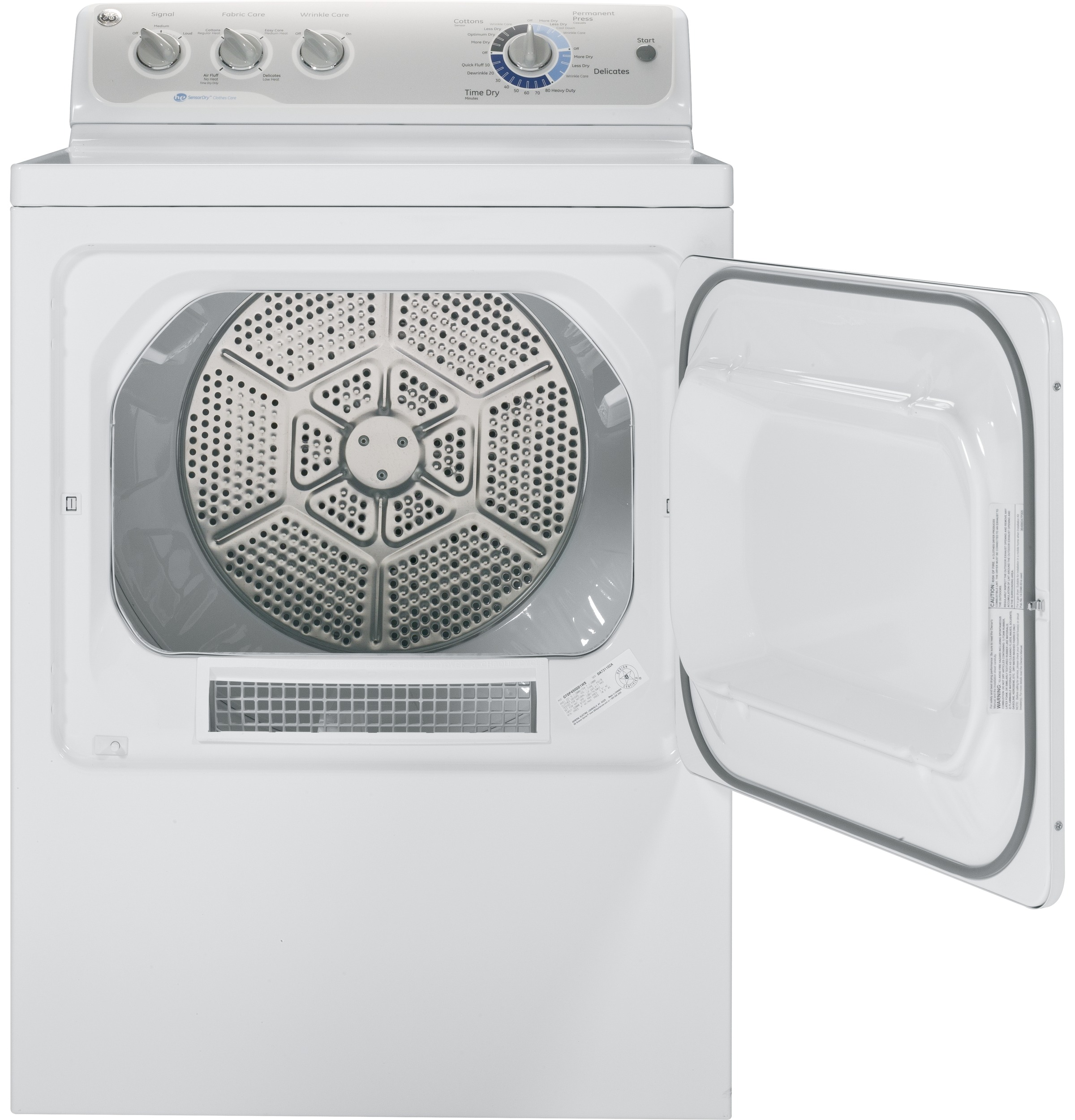 GE Appliances 7.0 cu. ft. Gas Dryer - White