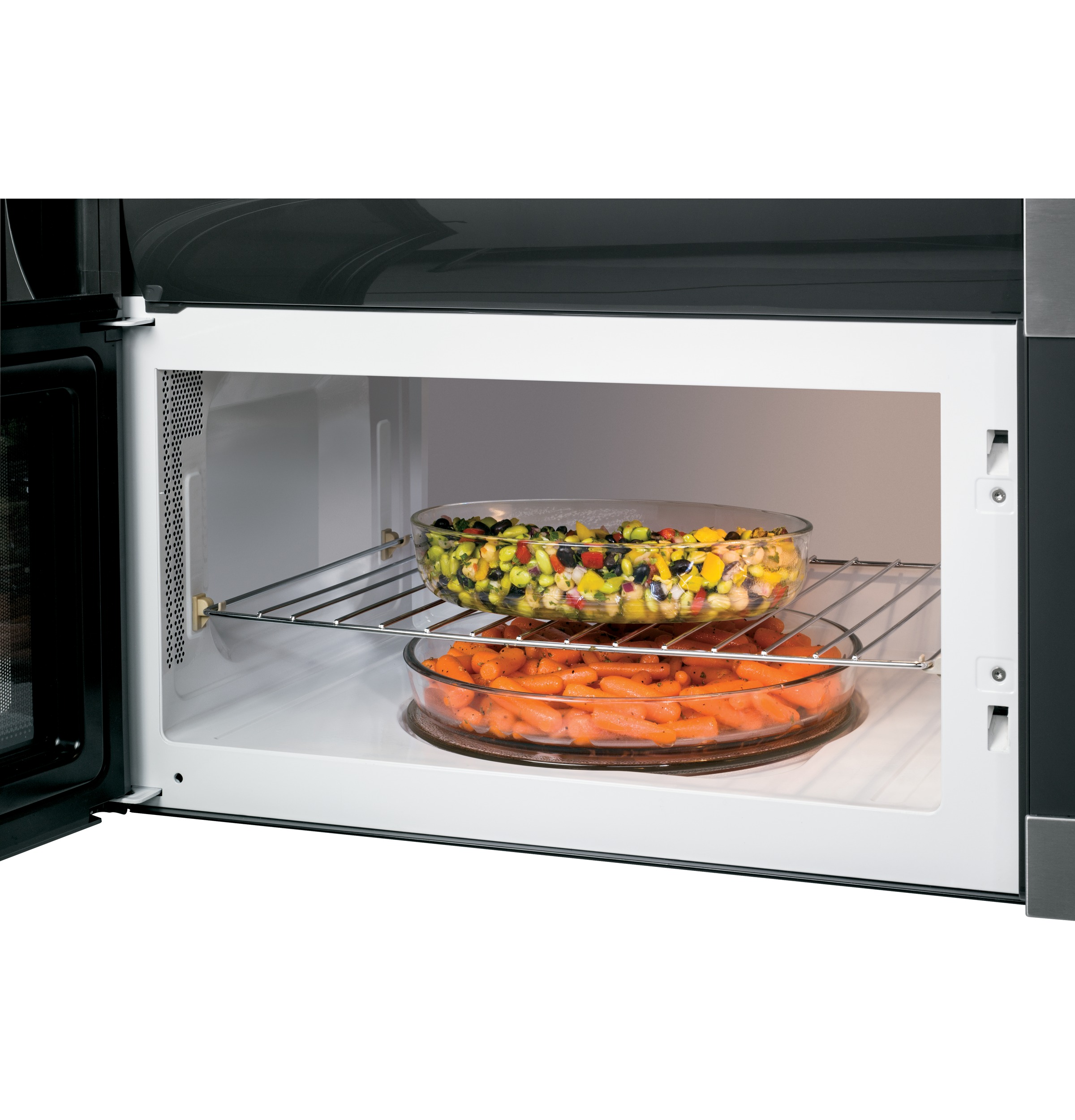 GE Appliances JVM7195SFSS 1.9 cu. ft. Over-the-Range Sensor Microwave Oven - Stainless