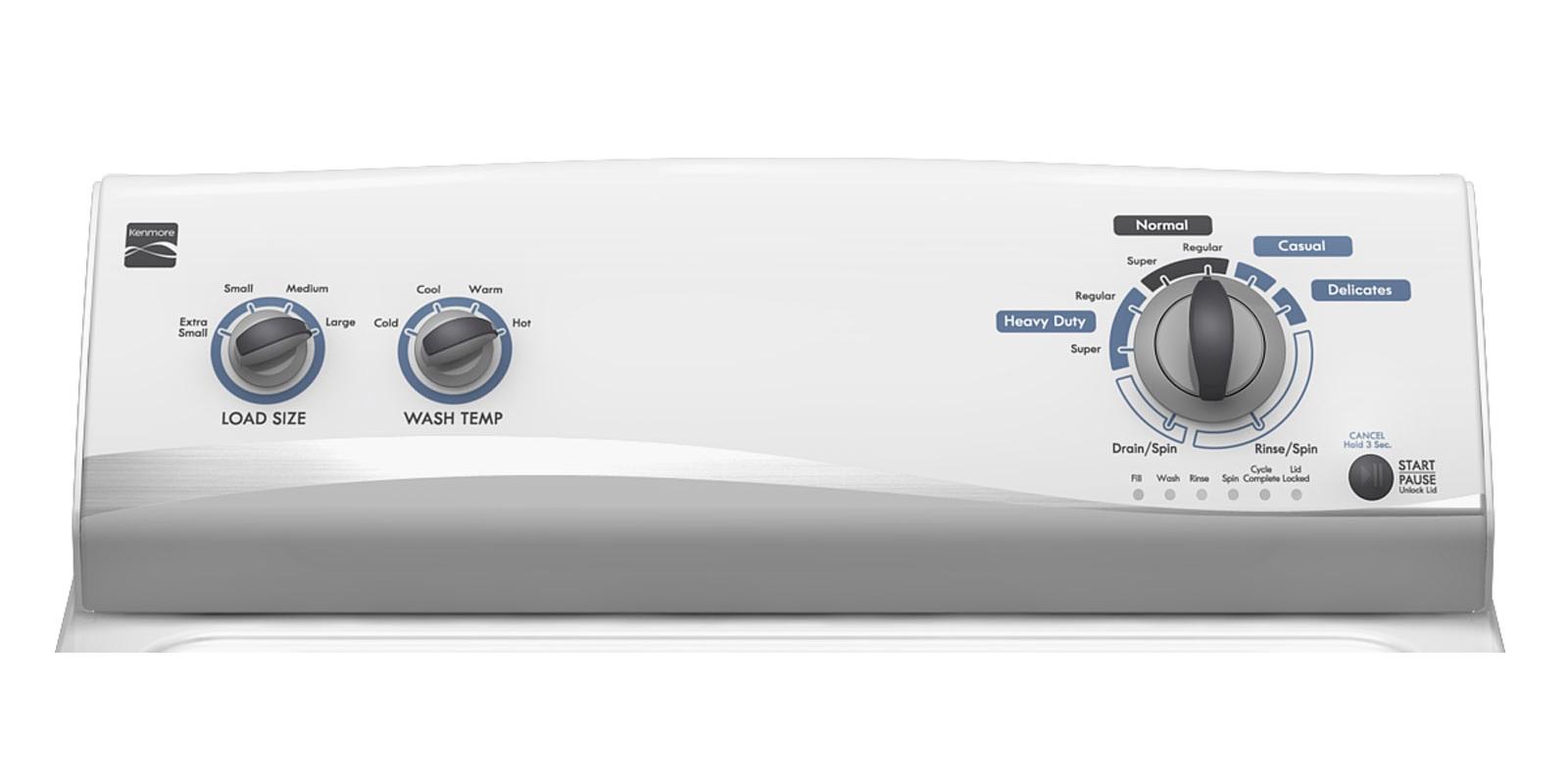 Kenmore 3.4 cu. ft. Top-Load Washing Machine - White