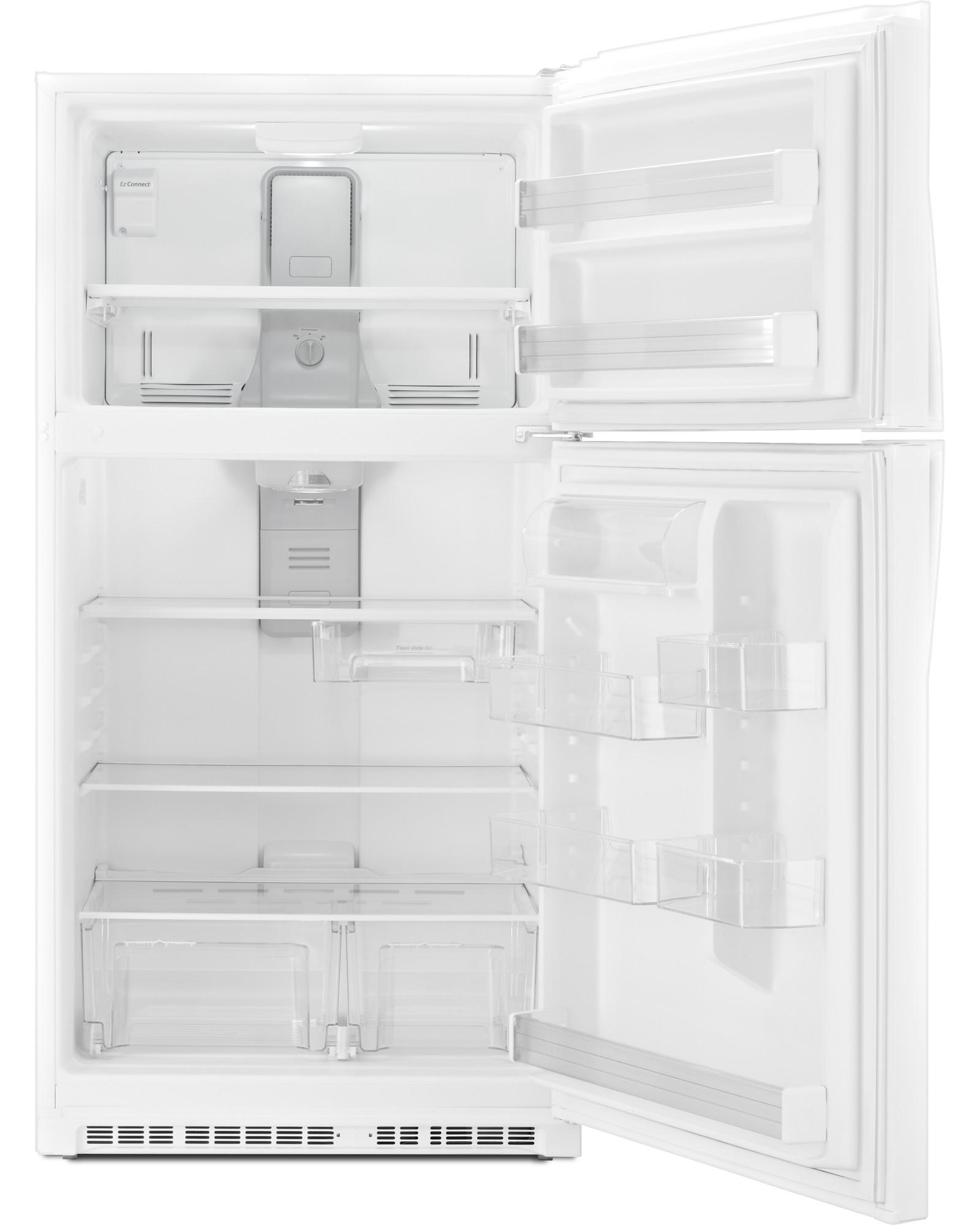 Whirlpool WRT511SZDW 21 cu. ft. Top Freezer Refrigerator w/ LED Interior Lighting - White