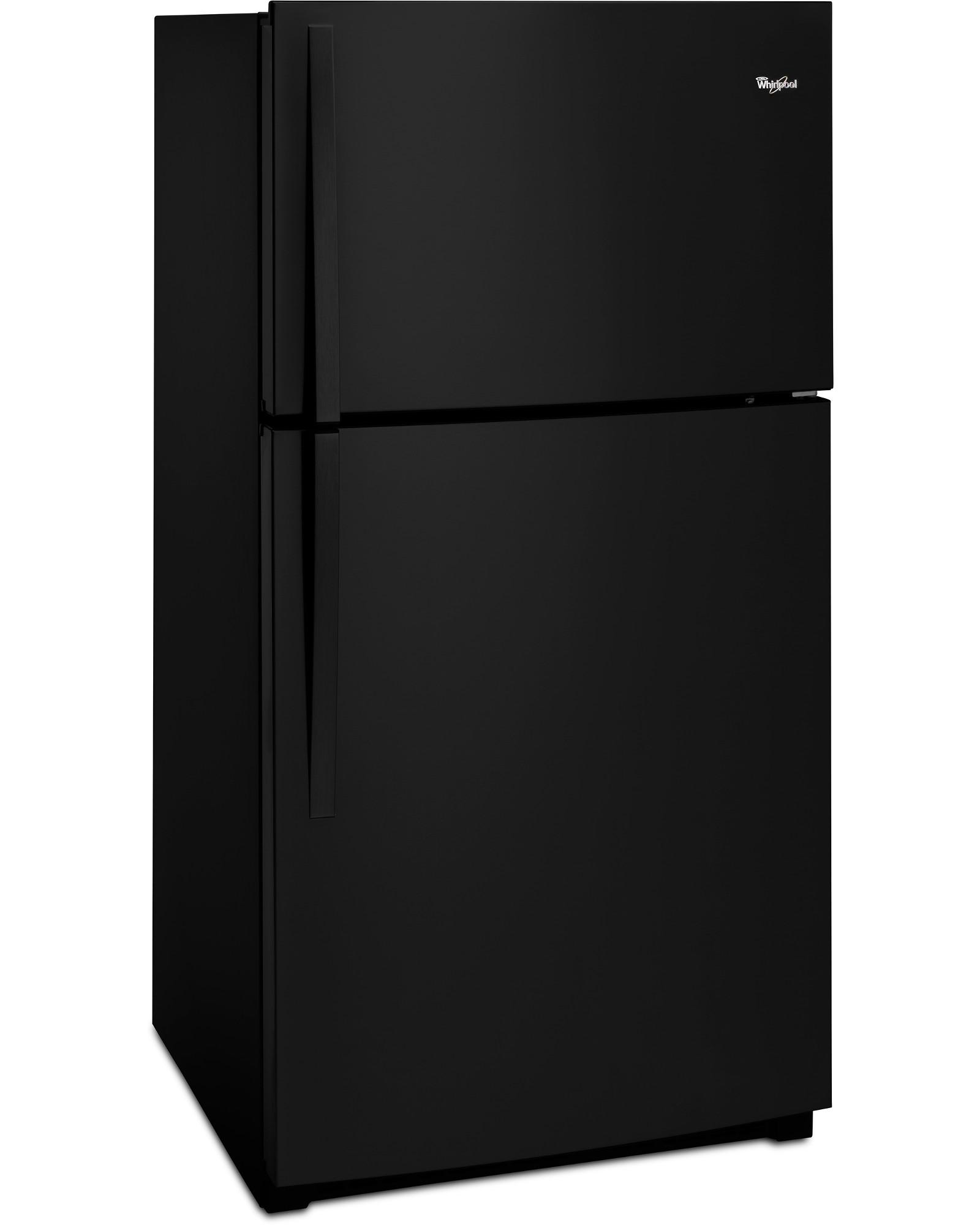 Whirlpool WRT511SZDB 21 cu. ft. Top Freezer Refrigerator w/ LED Interior Lighting - Black