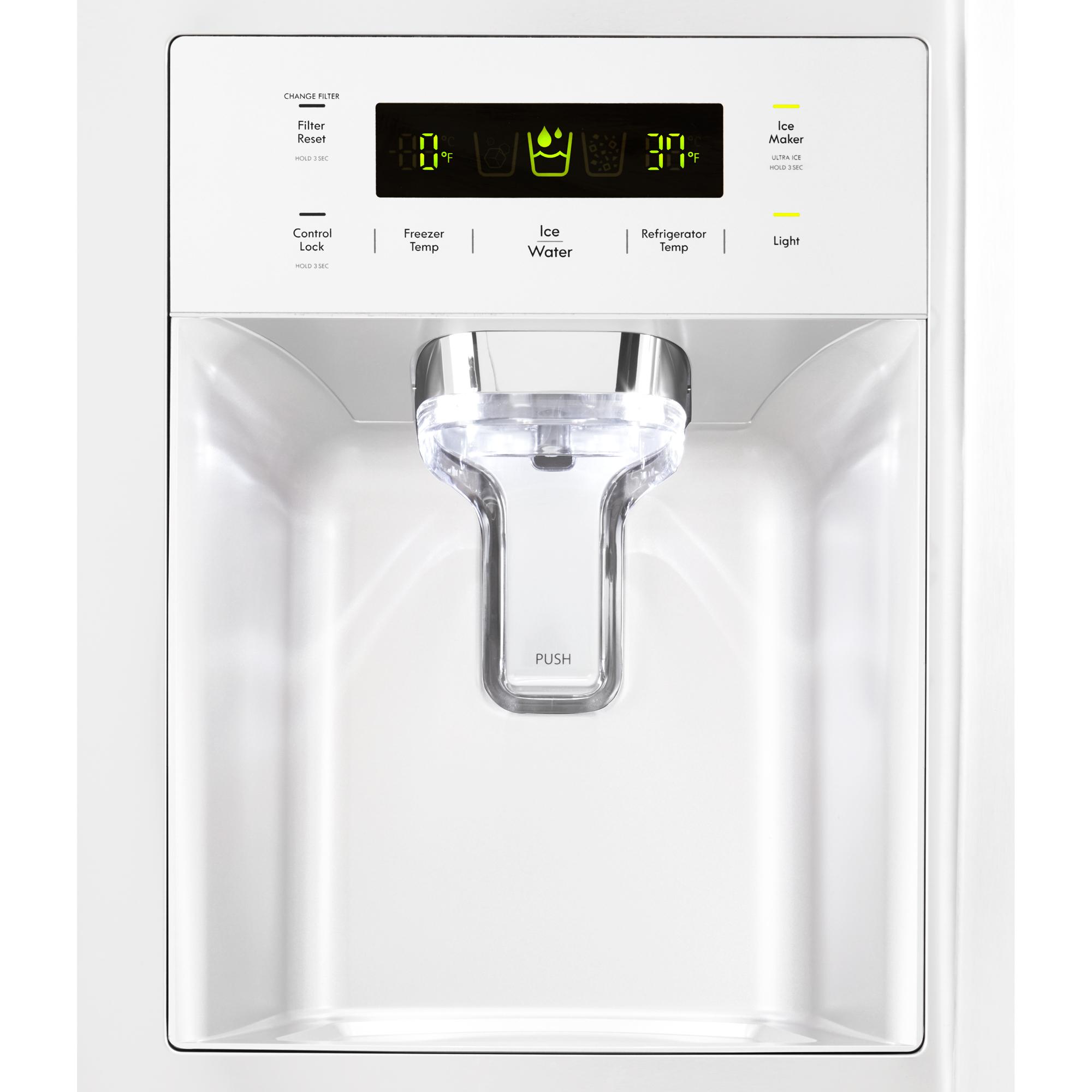Kenmore 51832 26.1 cu.ft. Capacity Side-by-Side Refrigerator w/ Grab-N-Go™ Door
