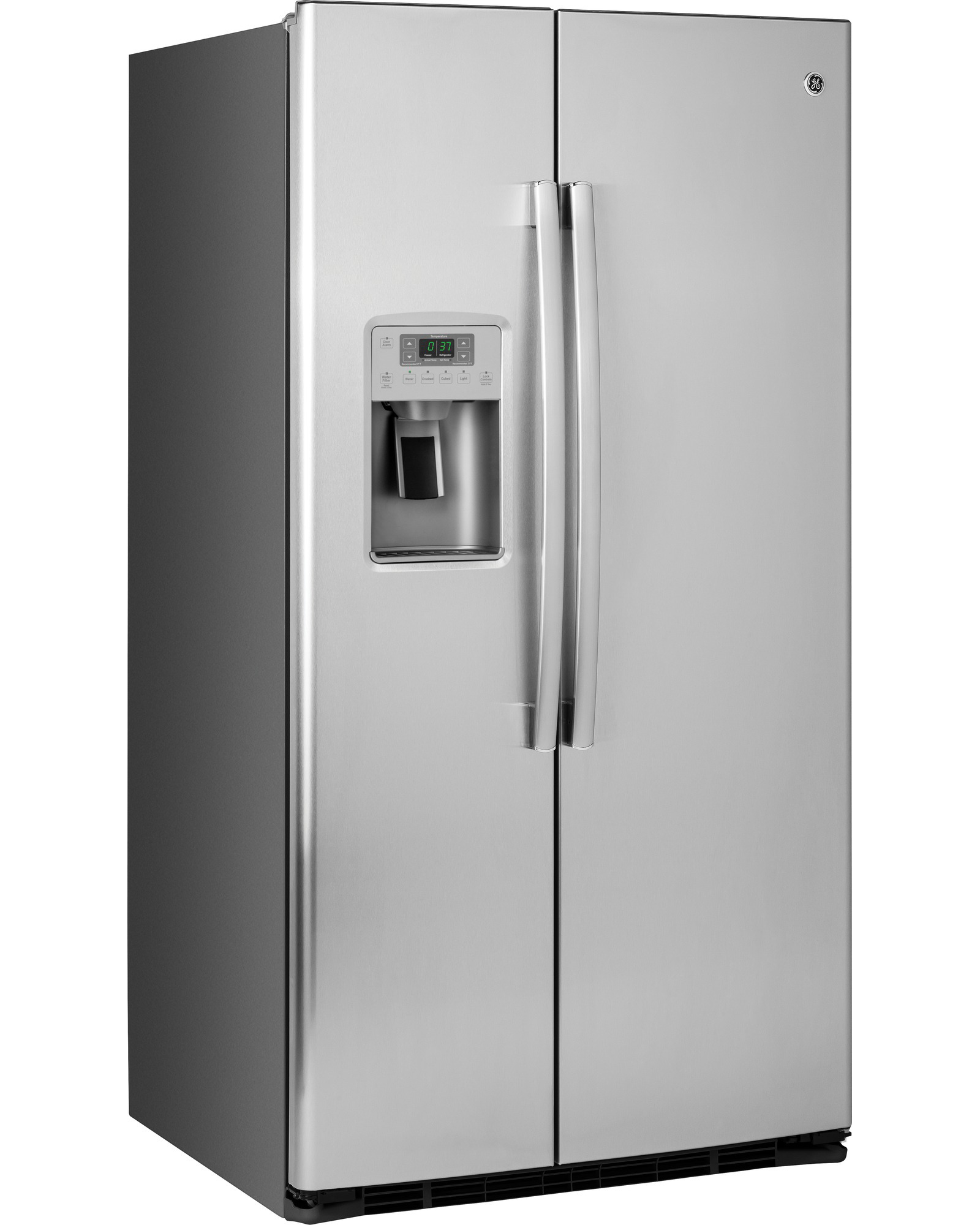 GE Appliances GSE25HSHSS 25.4 cu. ft. Side-By-Side Refrigerator - Stainless