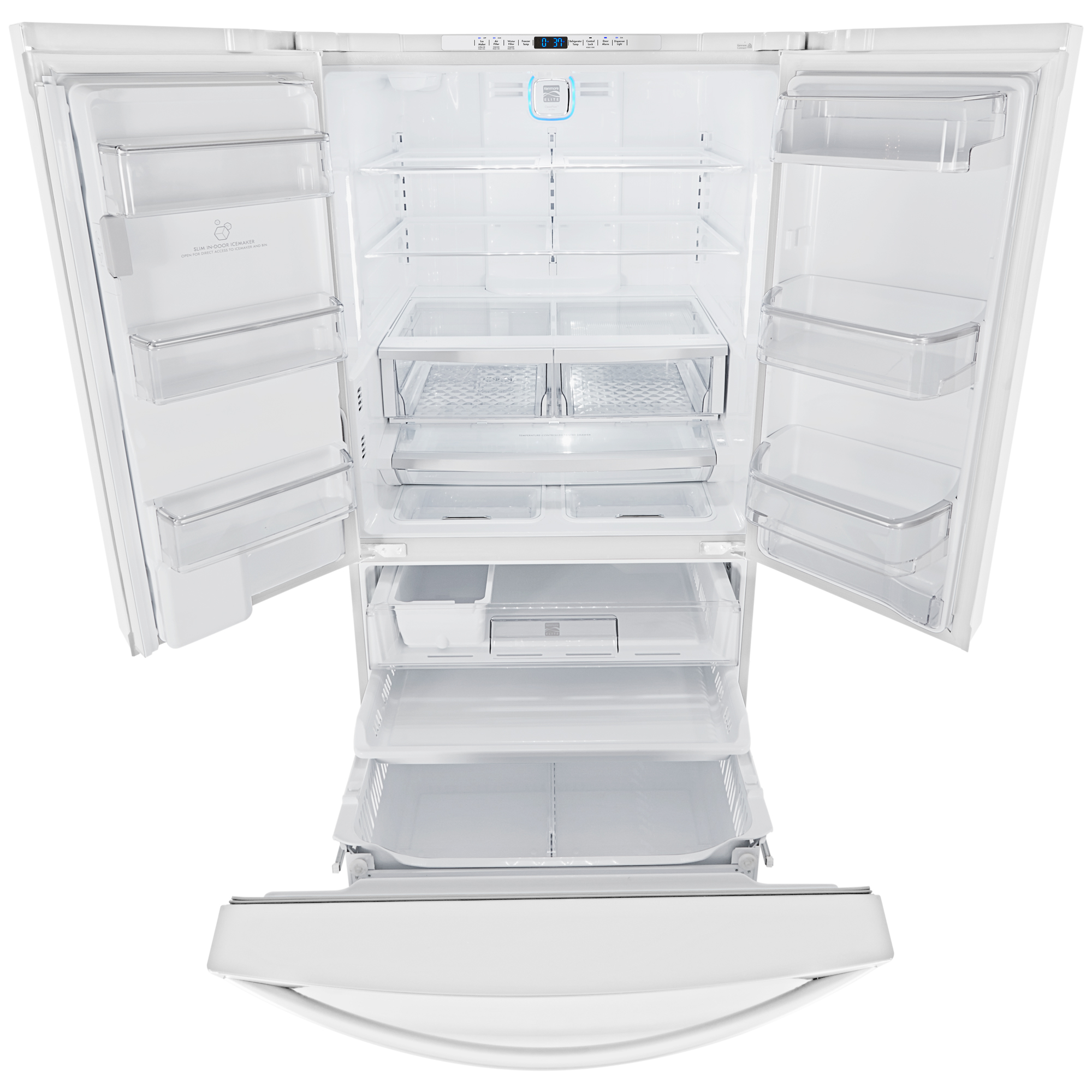 Kenmore Elite 74092 31.7 cu.ft. Super Capacity French Door Bottom-Freezer Refrigerator