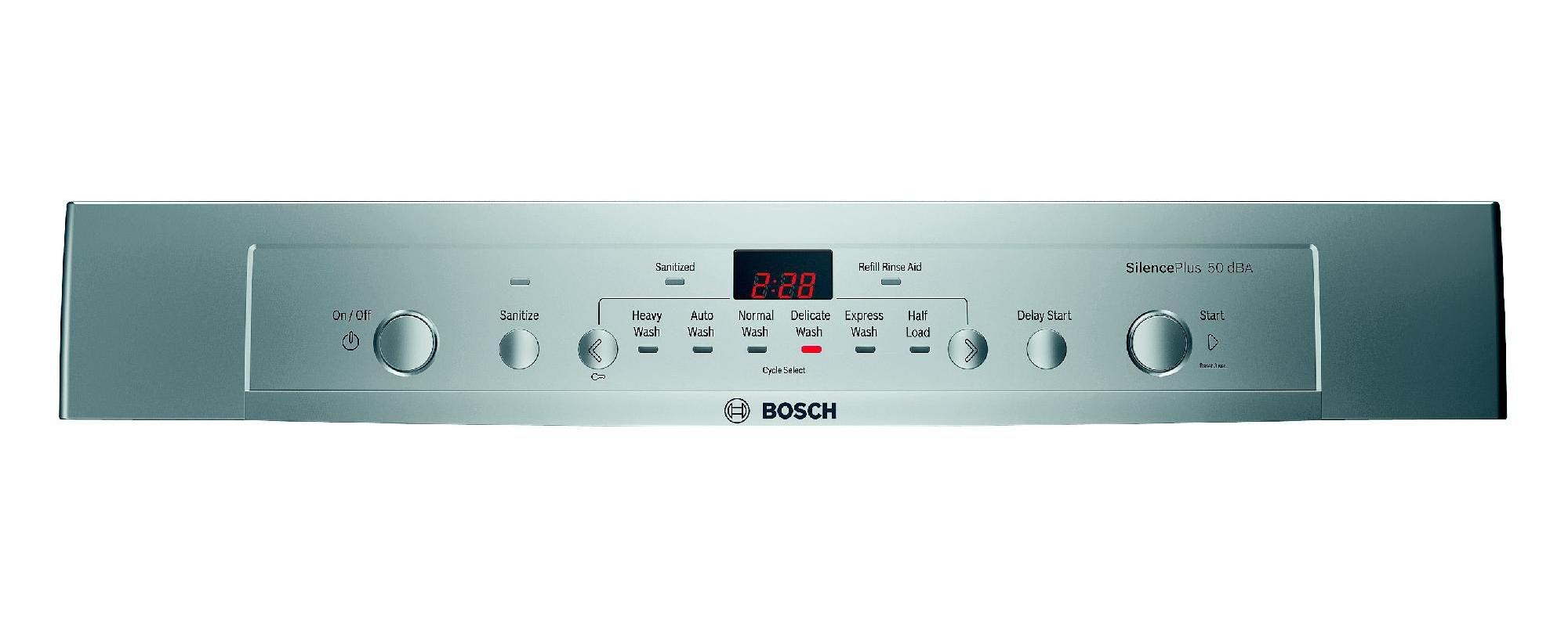 "Bosch 24"" Built-In Dishwasher Stainless Steel"