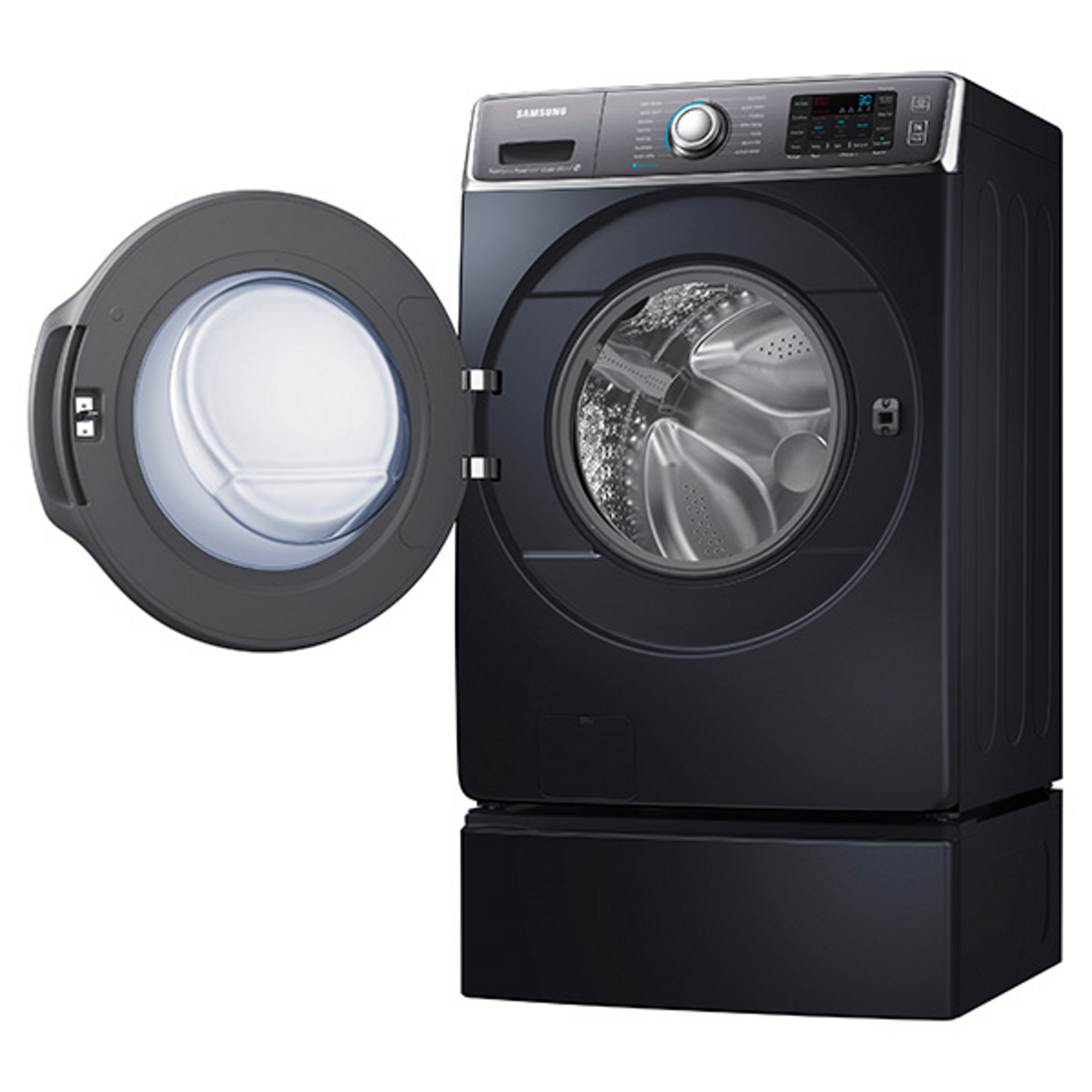 Samsung 5.6 cu. ft. Front-Load Washer - Onyx
