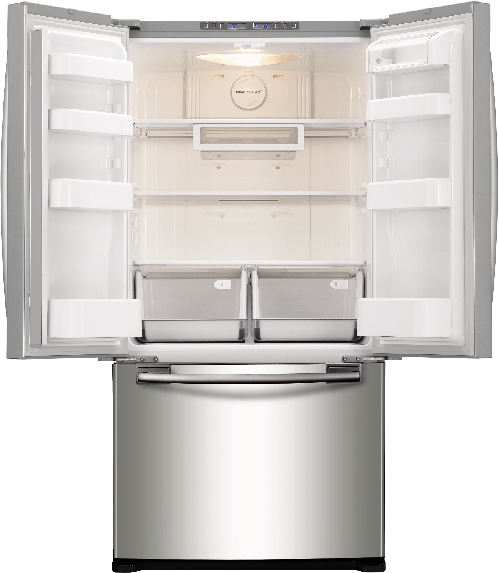 Samsung 20 cu. ft. French Door Refrigerator w/ Twin Cooling System® - Stainless Steel