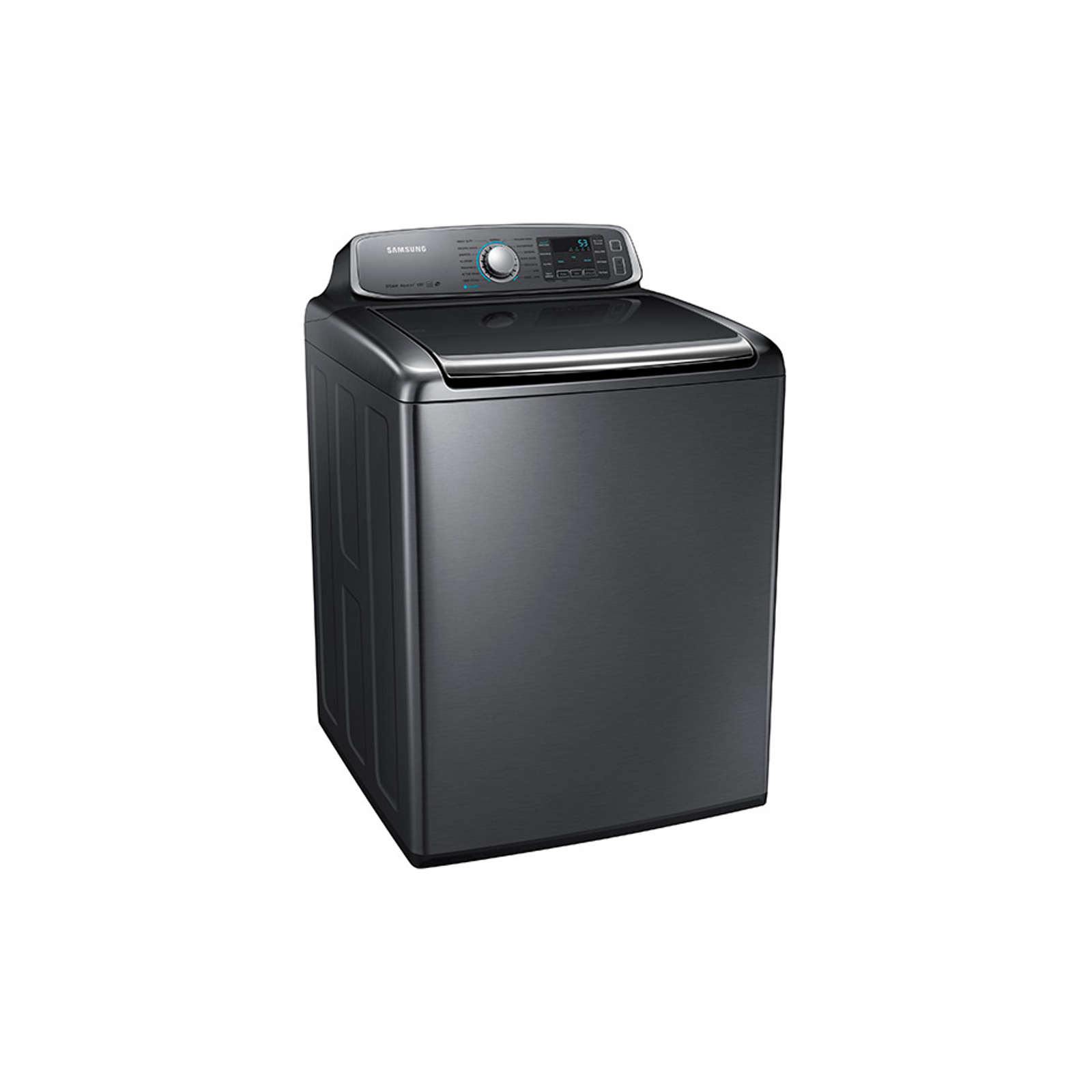 Samsung 5.6 cu. ft. Top-Load Washer - Stainless Platinum