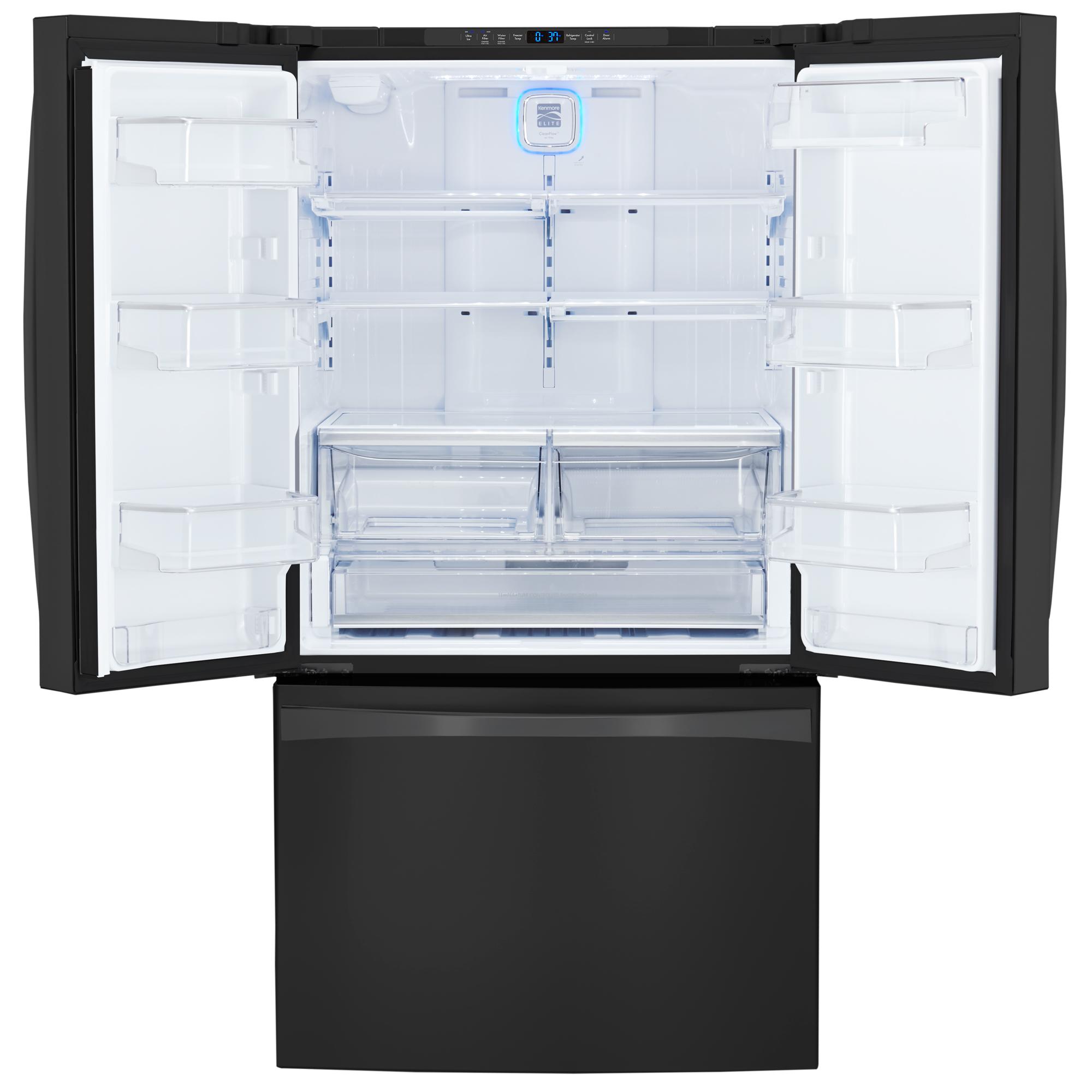 Kenmore Elite 74019 30.6 cu.ft. French Door Bottom-Freezer Refrigerator