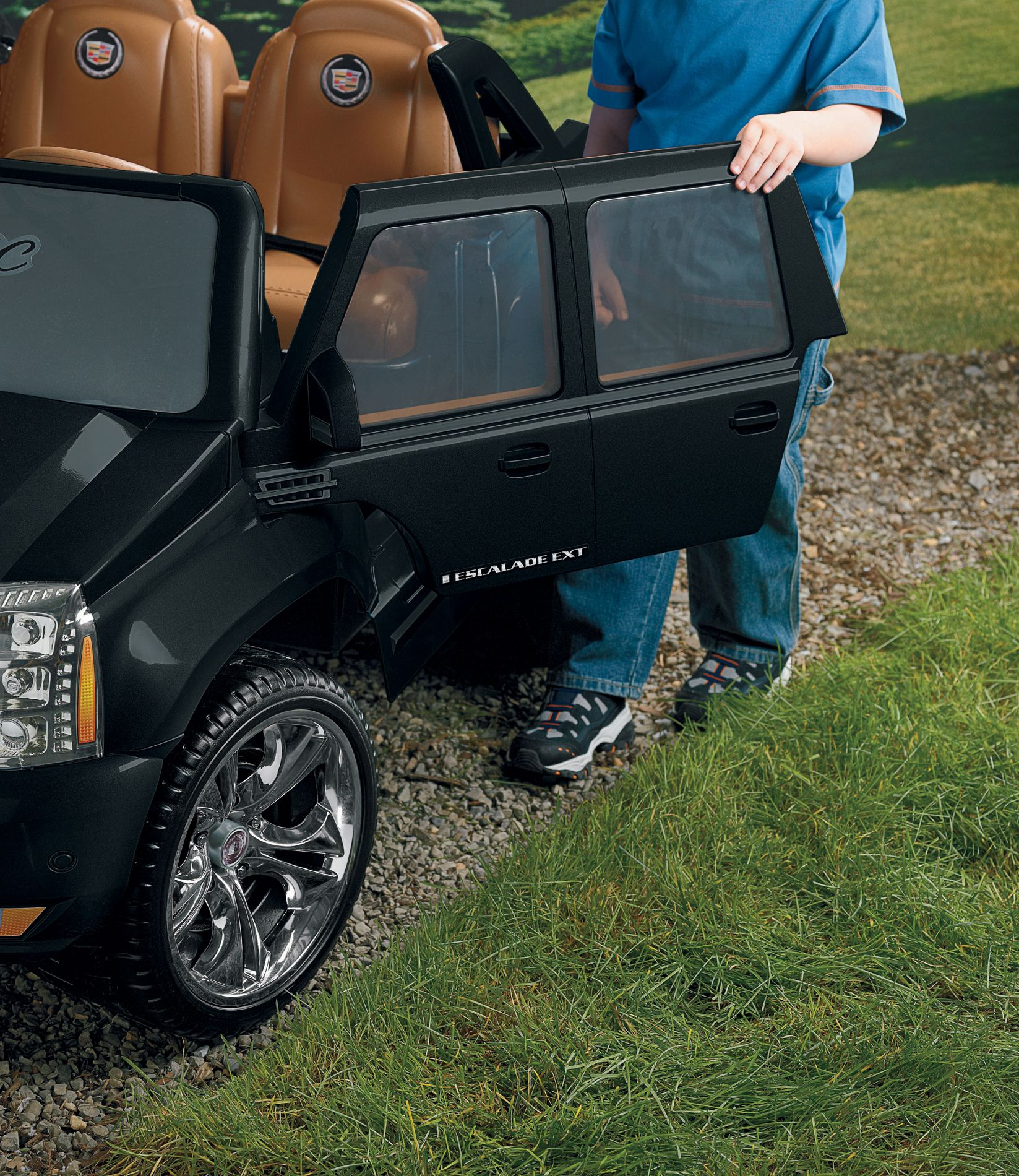 Power Wheels Cadillac Escalade EXT Black