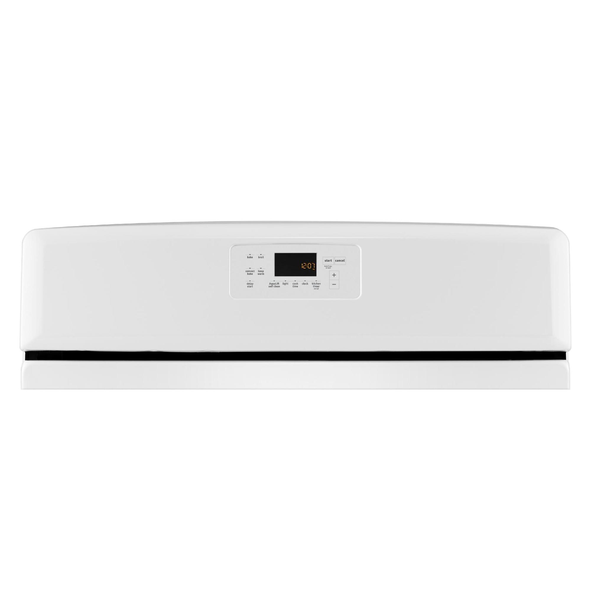 Maytag MGR8700DW 5.8 cu. ft. Gas Range w/ 5th Element - White