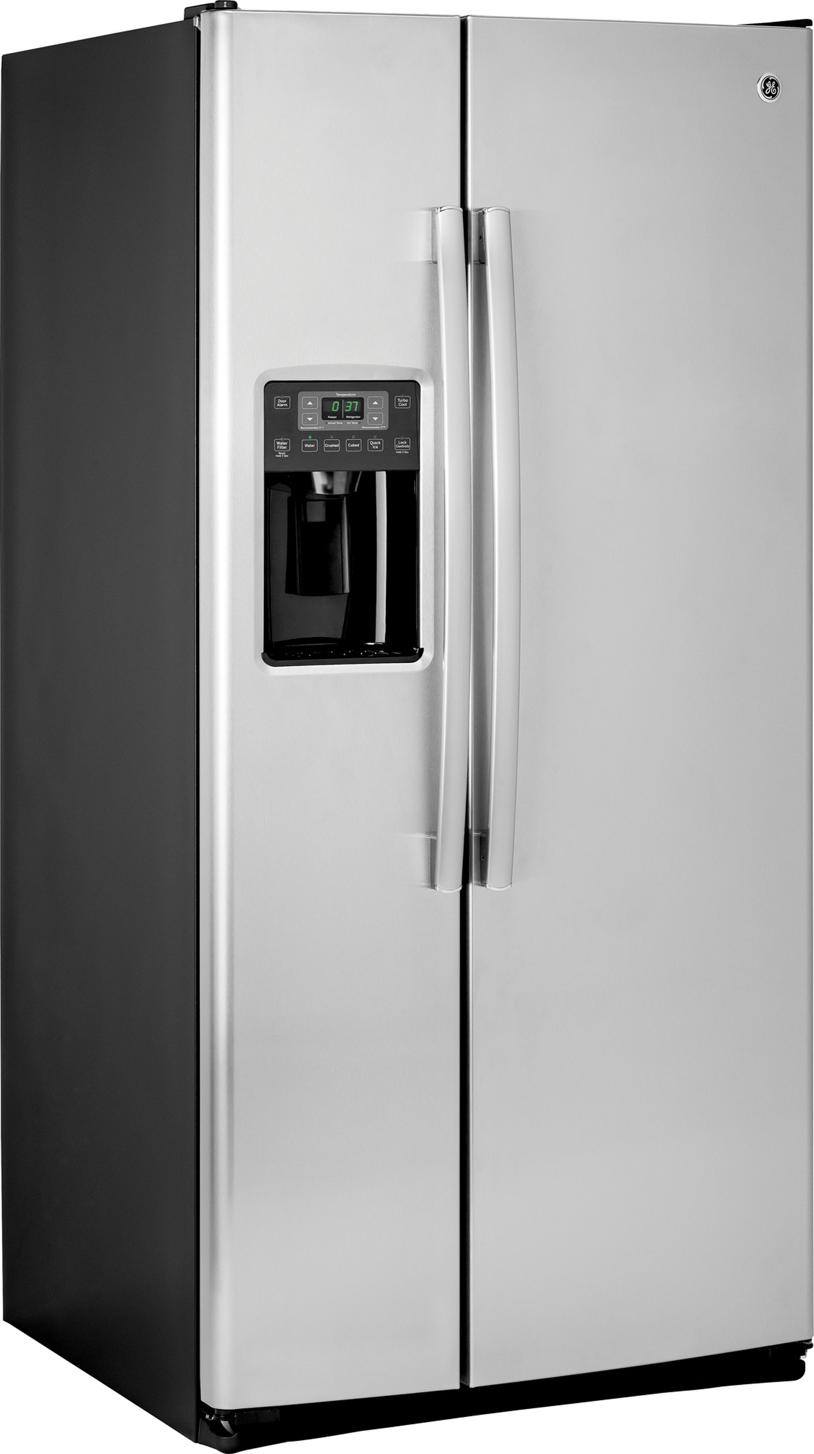 GE Appliances GSS23HSHSS 22.5 cu. ft. Side-By-Side Refrigerator - Stainless Steel