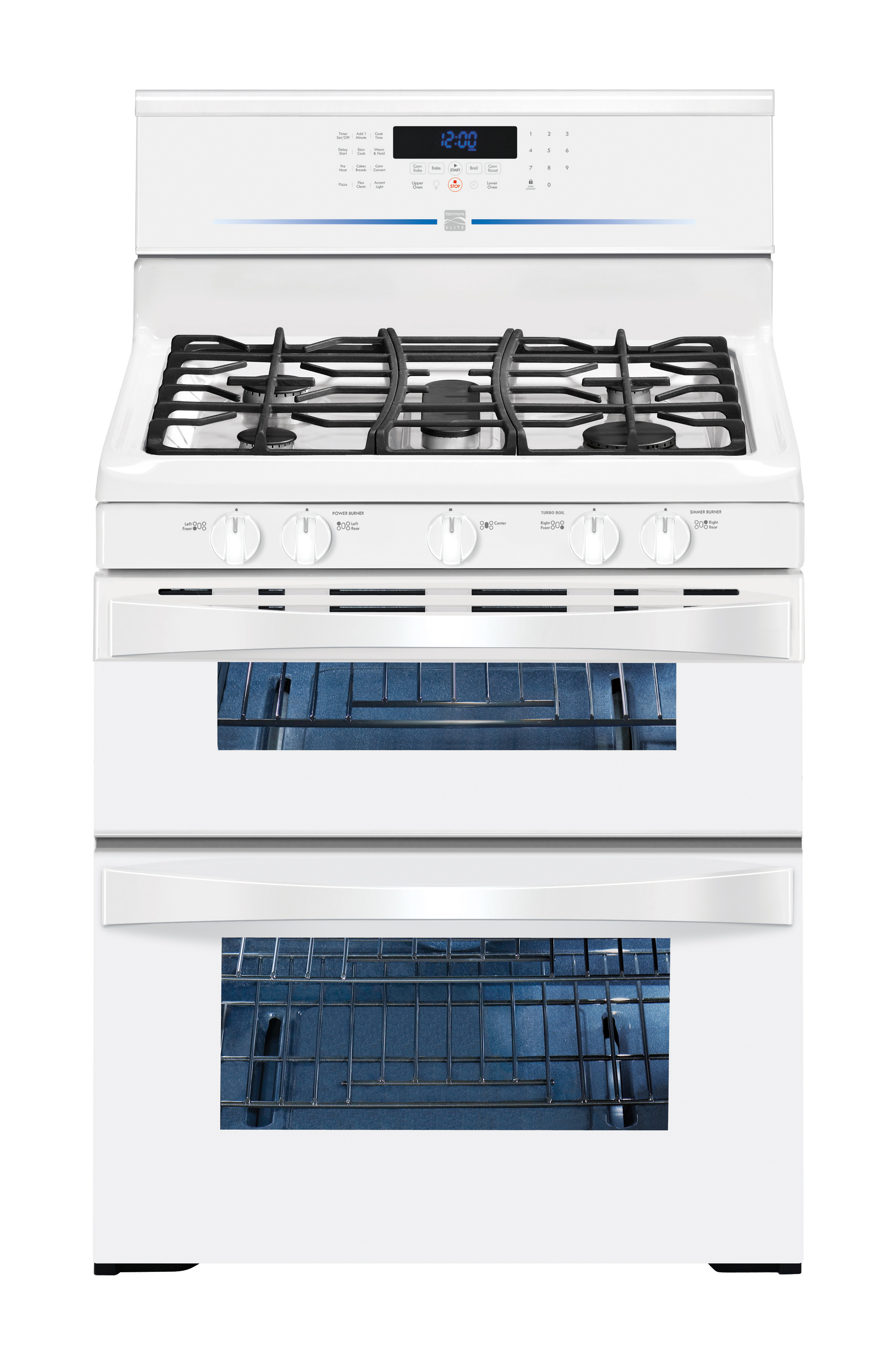 Kenmore Elite 5.8 cu. ft. Double-Oven Gas Range