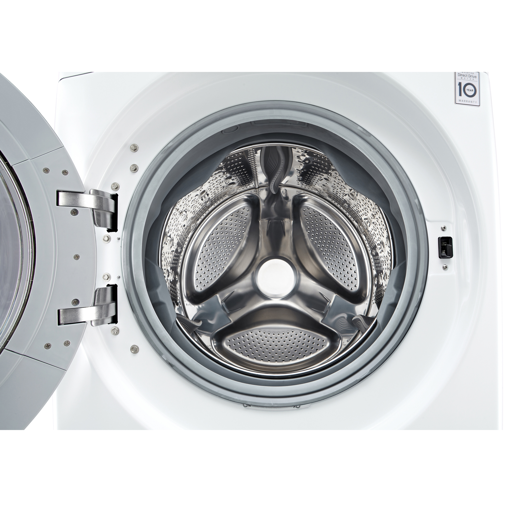 LG WM3370HWA 4.3 cu. ft. Ultra Large Capacity Front Load Washer w/ Steam – White