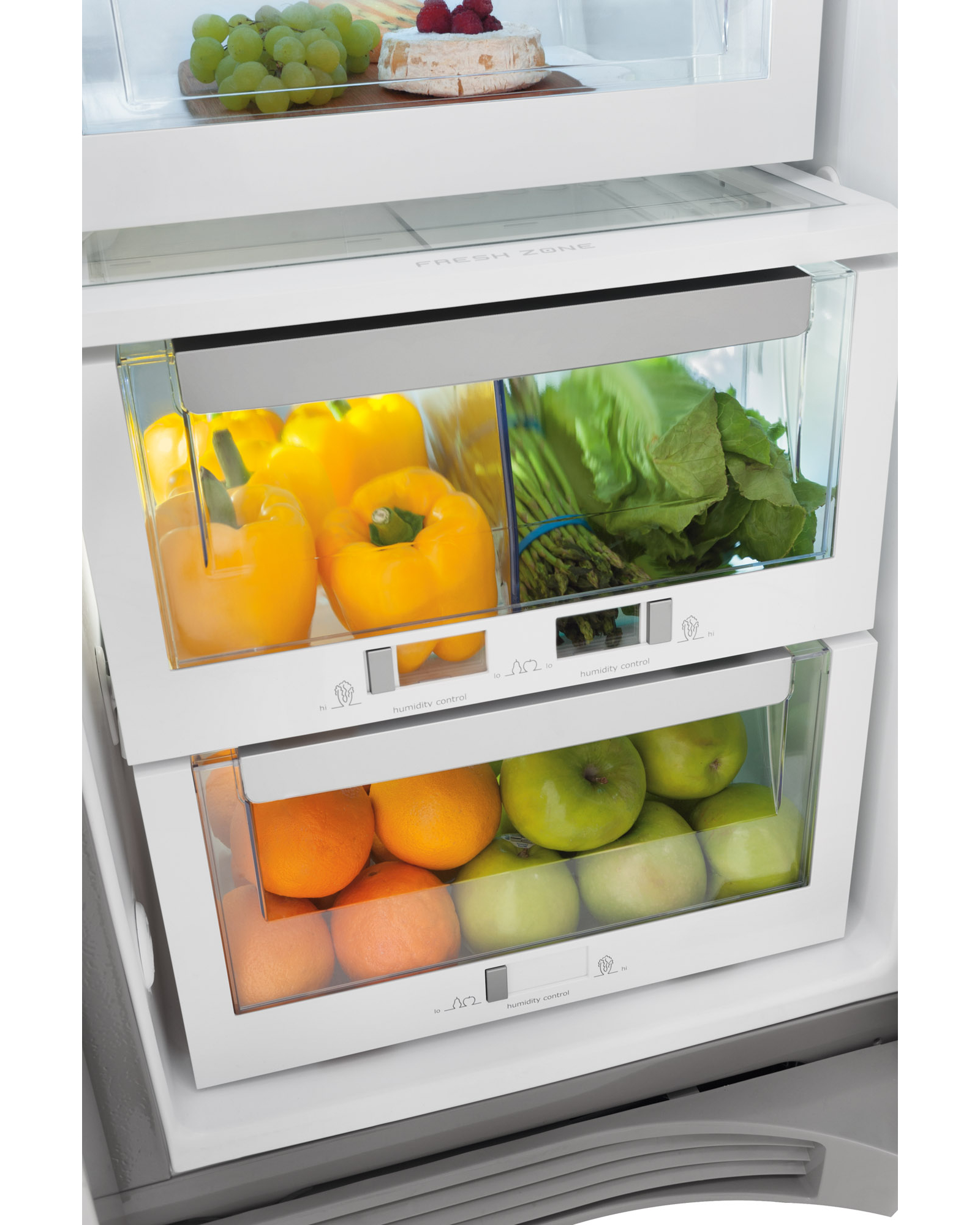 Electrolux 22.6 cu. ft. Counter-Depth Side-By-Side Refrigerator with Wave-Touch® Controls - Stainless Steel