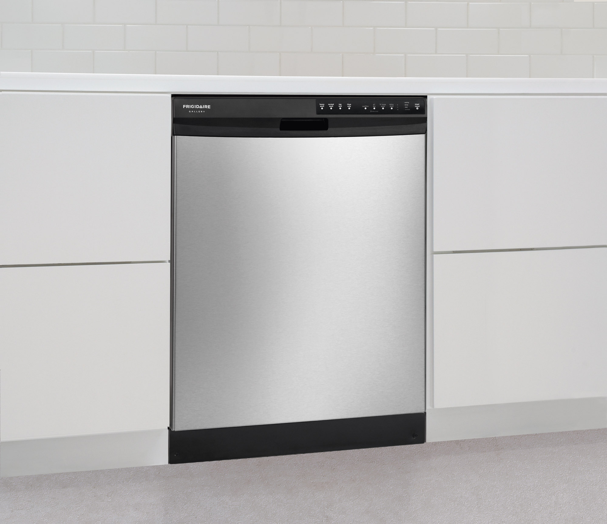 "Frigidaire Gallery FGBD2434PF Gallery 24"" Built-In Dishwasher w/ Nylon Racks - Stainless Steel"