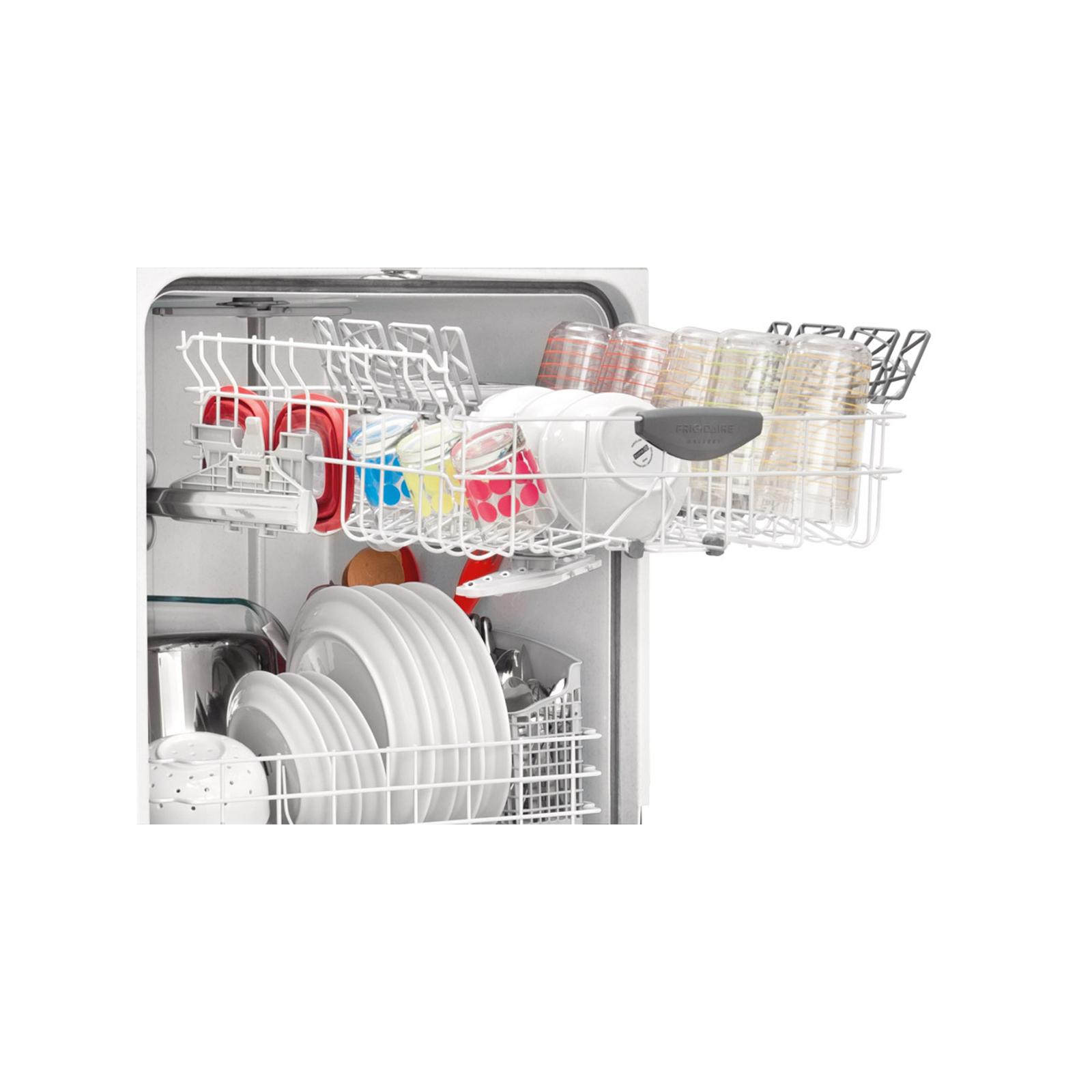 "Frigidaire Gallery Gallery 24"" Built-In Dishwasher w/ Nylon Racks - Stainless Steel"