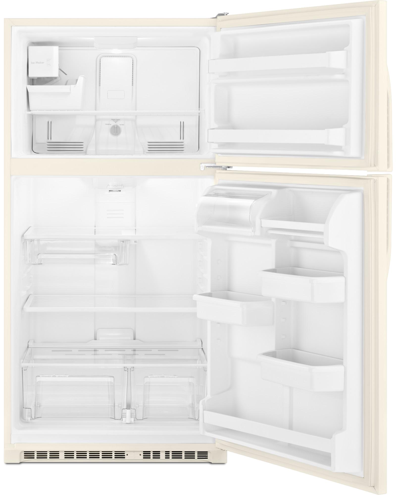"""Kenmore 20.5 cu. ft. 33"""" Top Freezer Refrigerator w/ Ice Maker - Biscuit"""