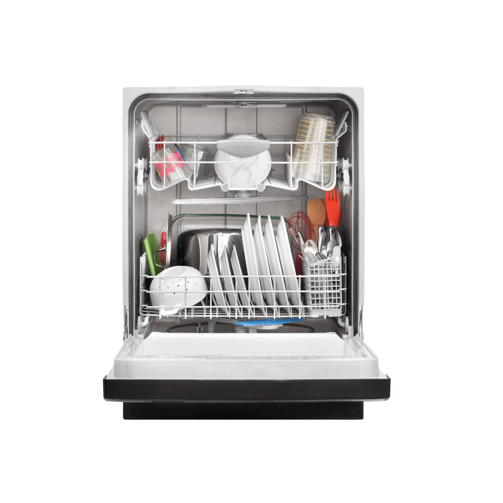 "Frigidaire Gallery Gallery 24"" Built-In Dishwasher w/ BladeSpray™ Wash System - Black"