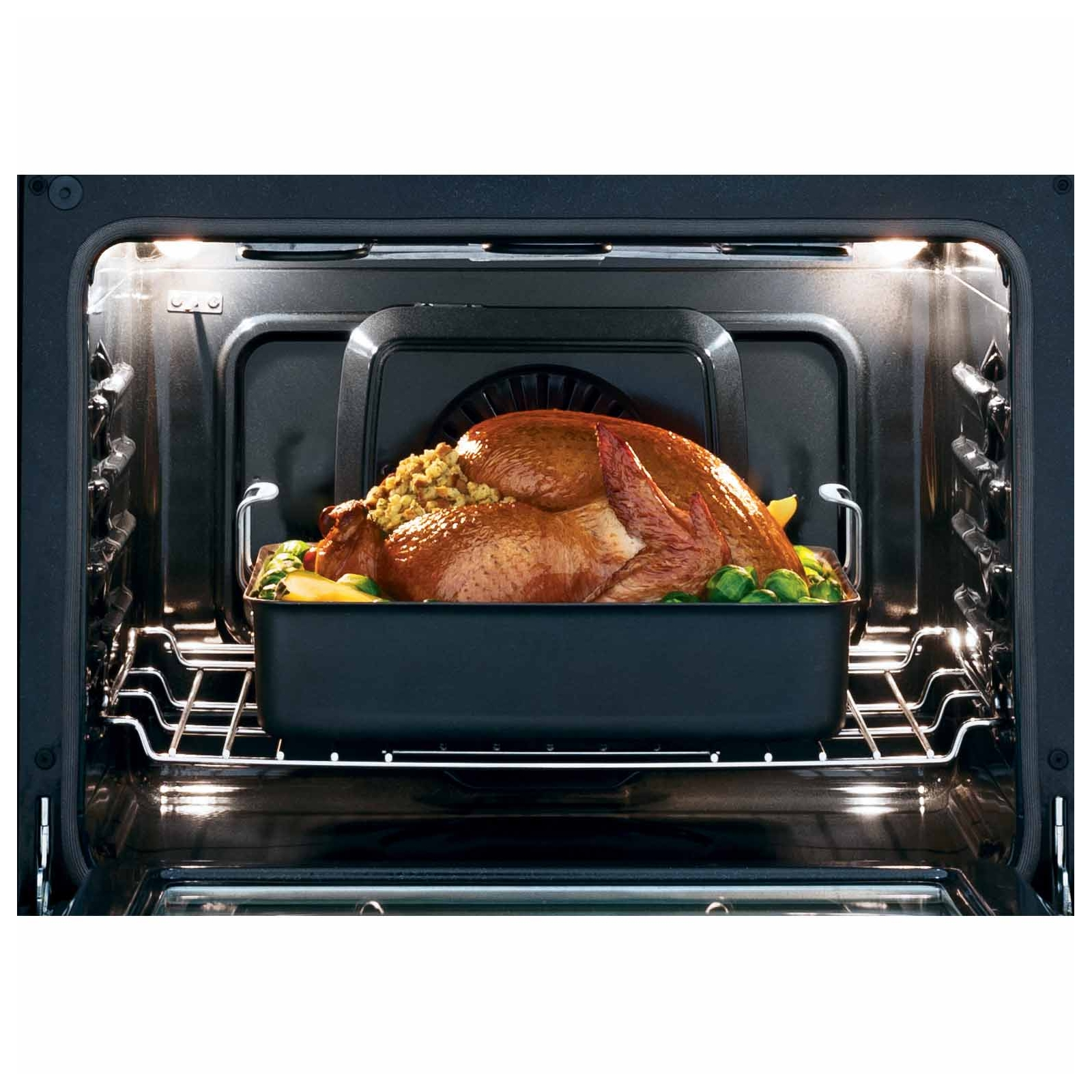 Frigidaire Gallery FGET3065PF 4.6 cu. ft. Built-In Double Electric Wall Oven w/ Smudge-Proof™ - Stainless Steel