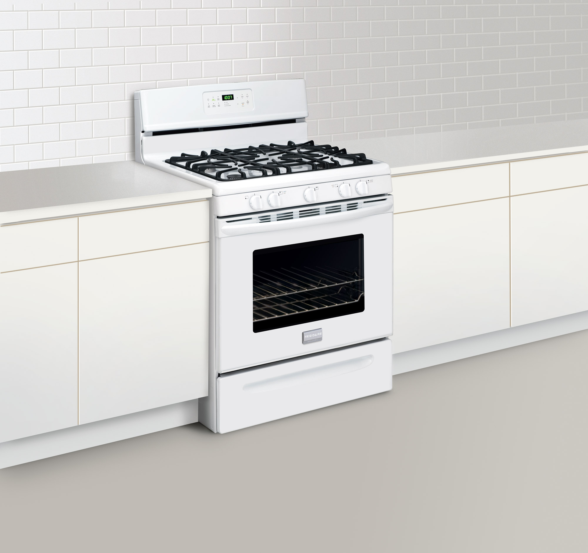 Frigidaire Gallery 5.0 cu. ft. Freestanding Gas Range  - White