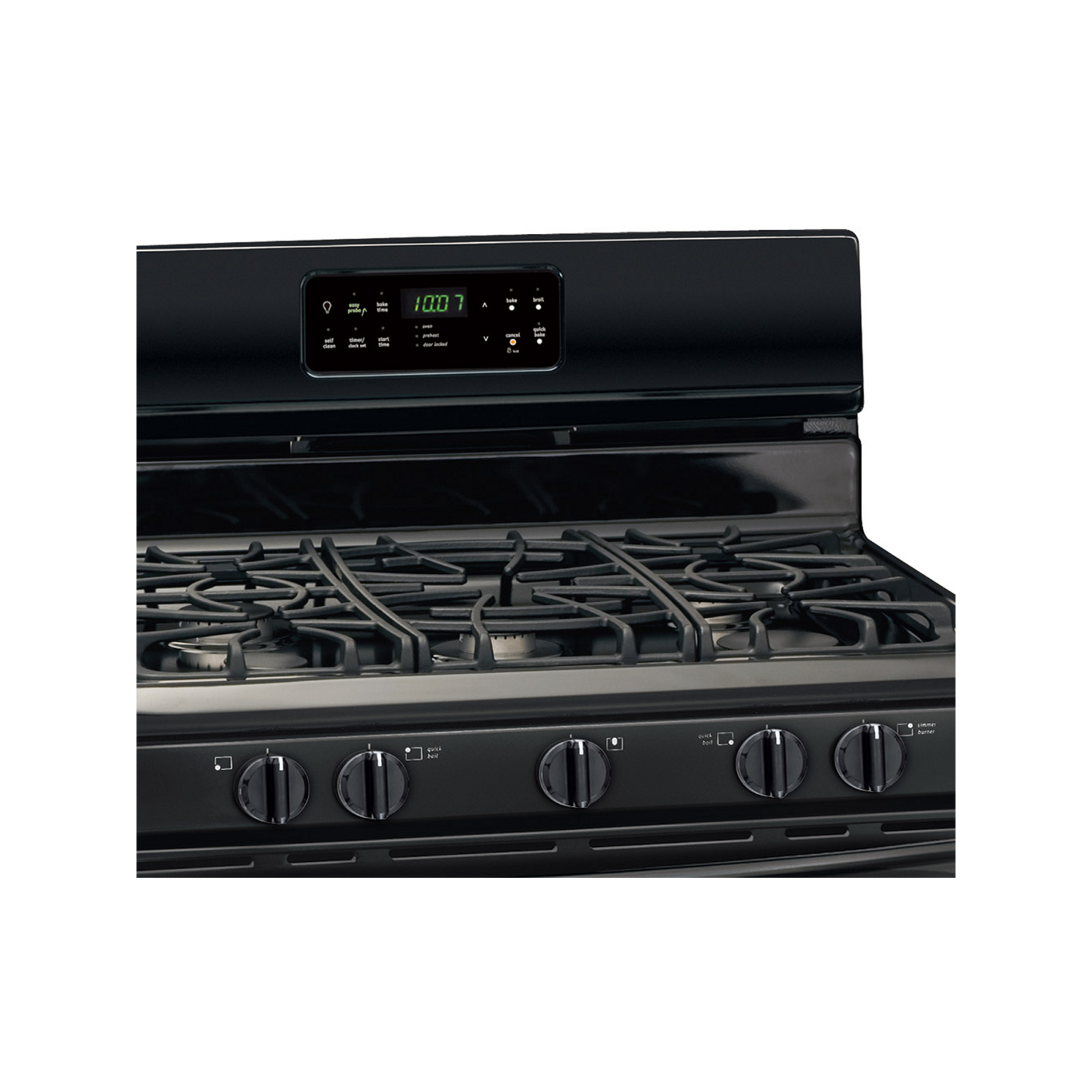 Frigidaire Gallery 5.0 cu. ft. Freestanding Gas Range   - Black