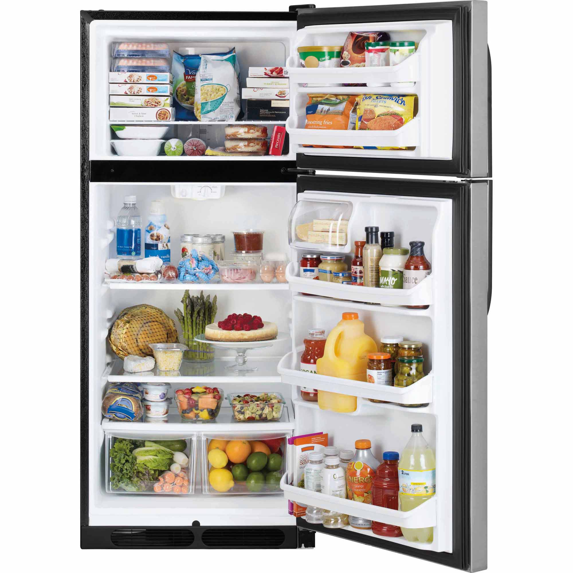 Kenmore 16 cu. ft. Top Mount Refrigerator - Stainless 60383