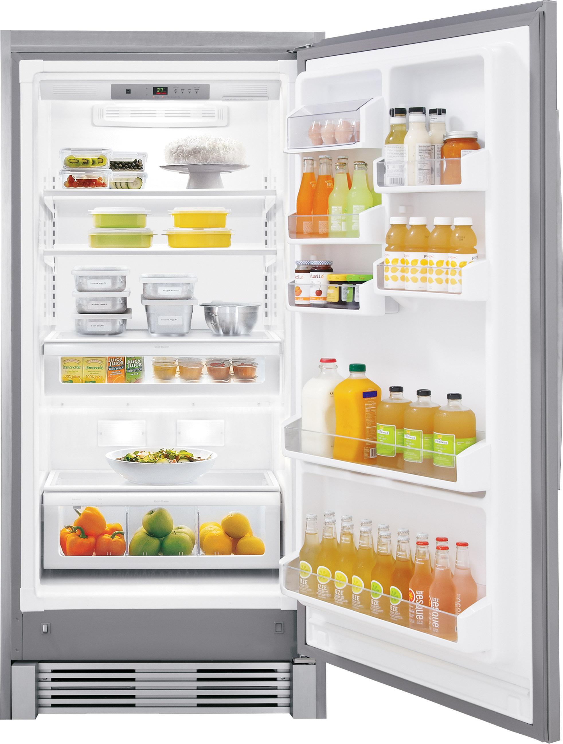 Frigidaire Gallery FGRU19F6QF 18.6 cu. ft. Counter-Depth Freezerless Refrigerator - Stainless Steel
