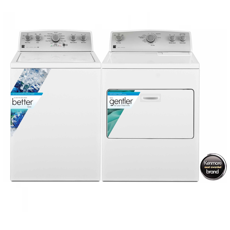 4.3 cu. ft. Top Load Washer & 7.0 cu. ft. Dryer Bundle
