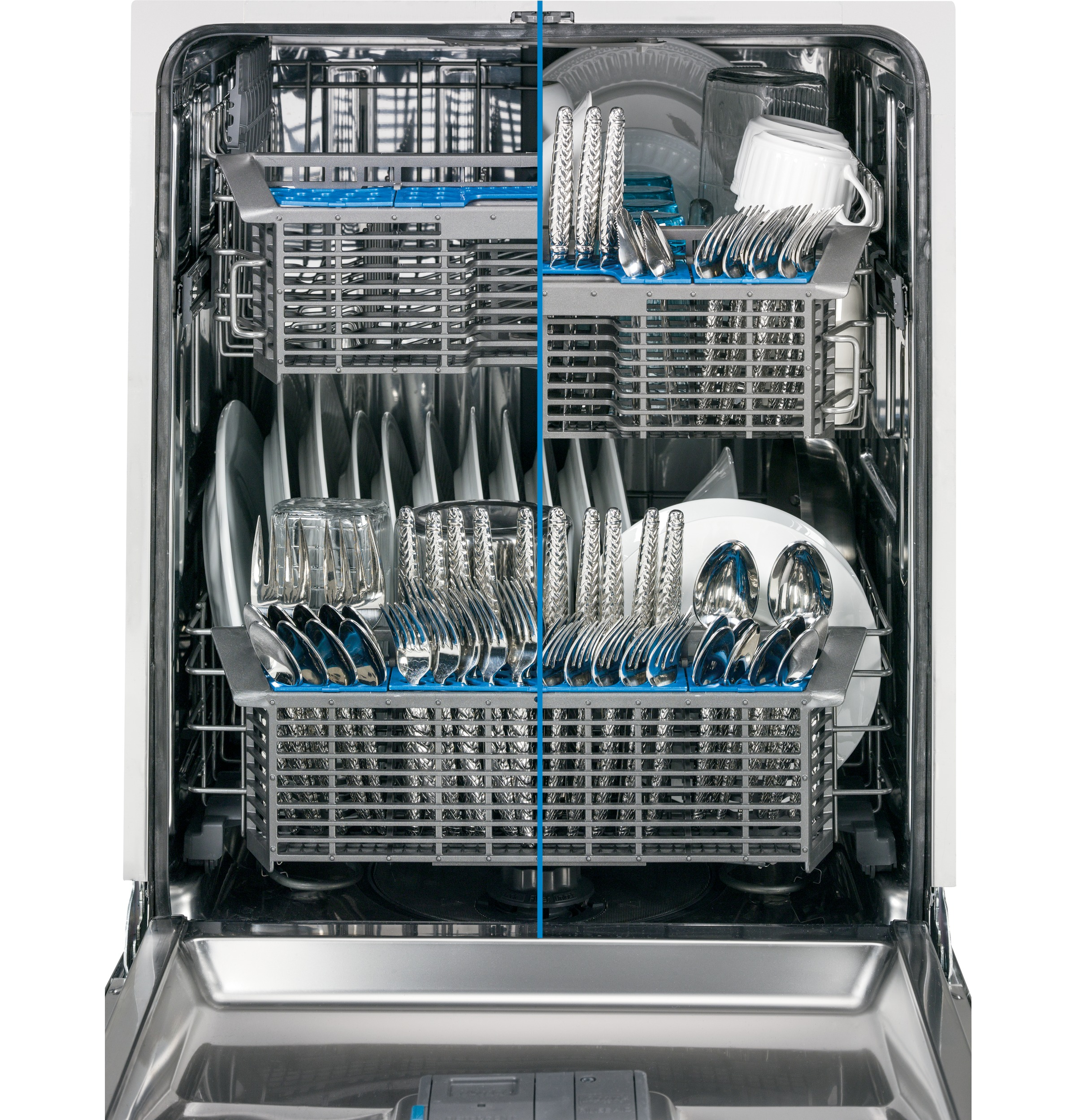 "GE Appliances GDF570SGFCC 24"" Built-in Dishwasher w/ Stainless Steel Interior & Front Controls-  Bisque"