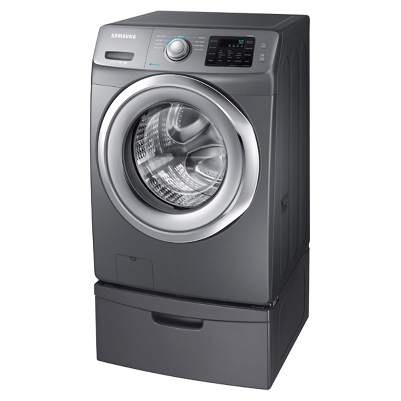 Samsung WF42H5200AP 4.2 cu. ft. Front-Load Washer w/ Steam Washing - Stainless Platinum